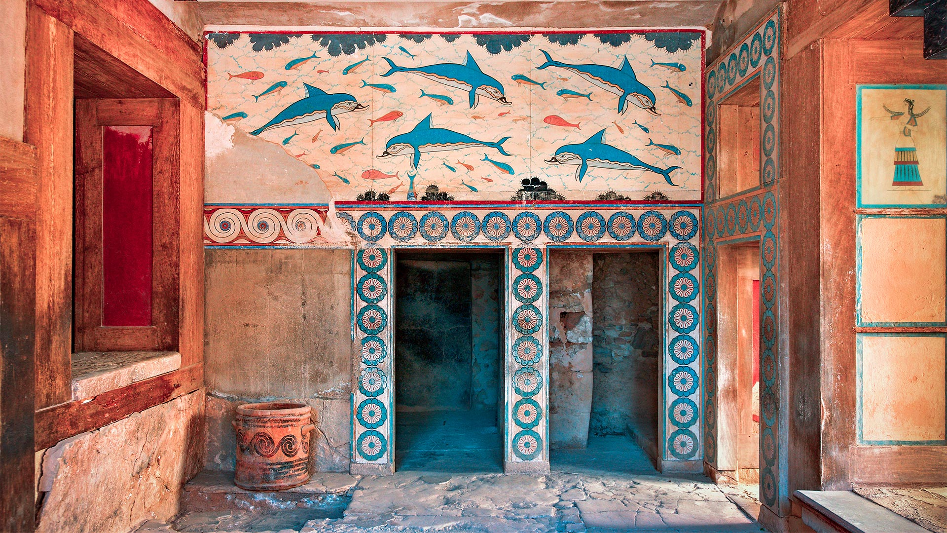 A room at Knossos palace