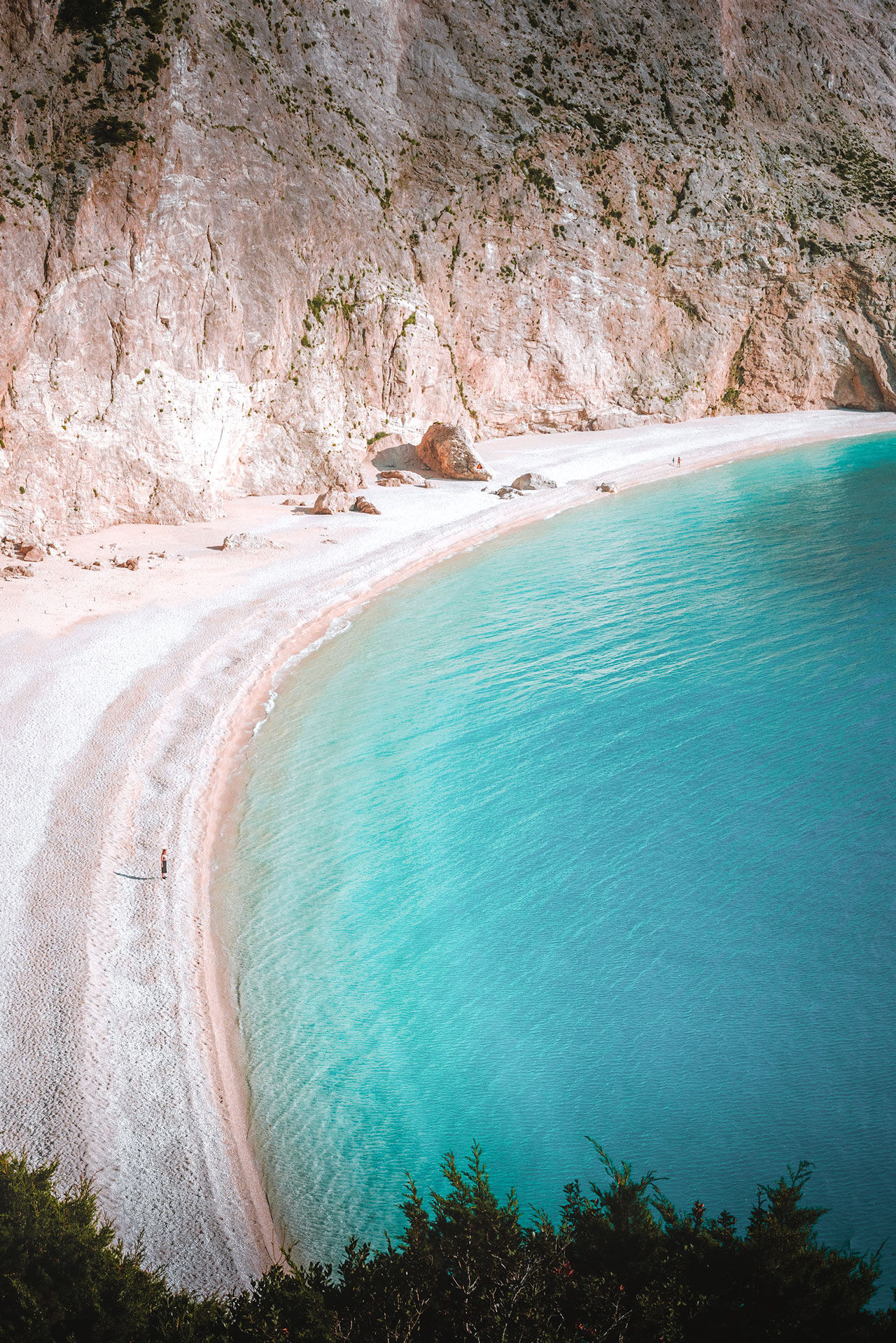 A day on Porto Katsiki beach is about enjoying nature at its most alluring