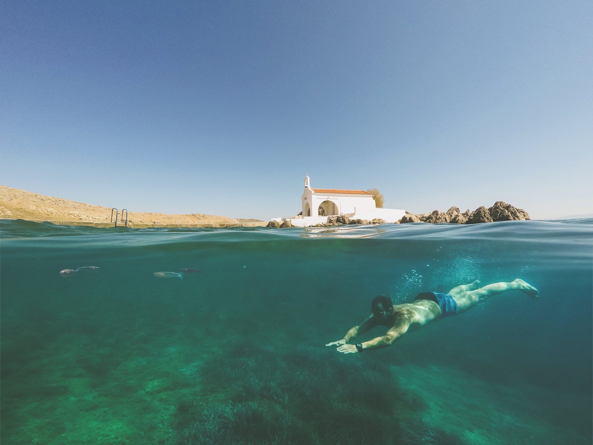 Chios at Summer, Dive into the fun