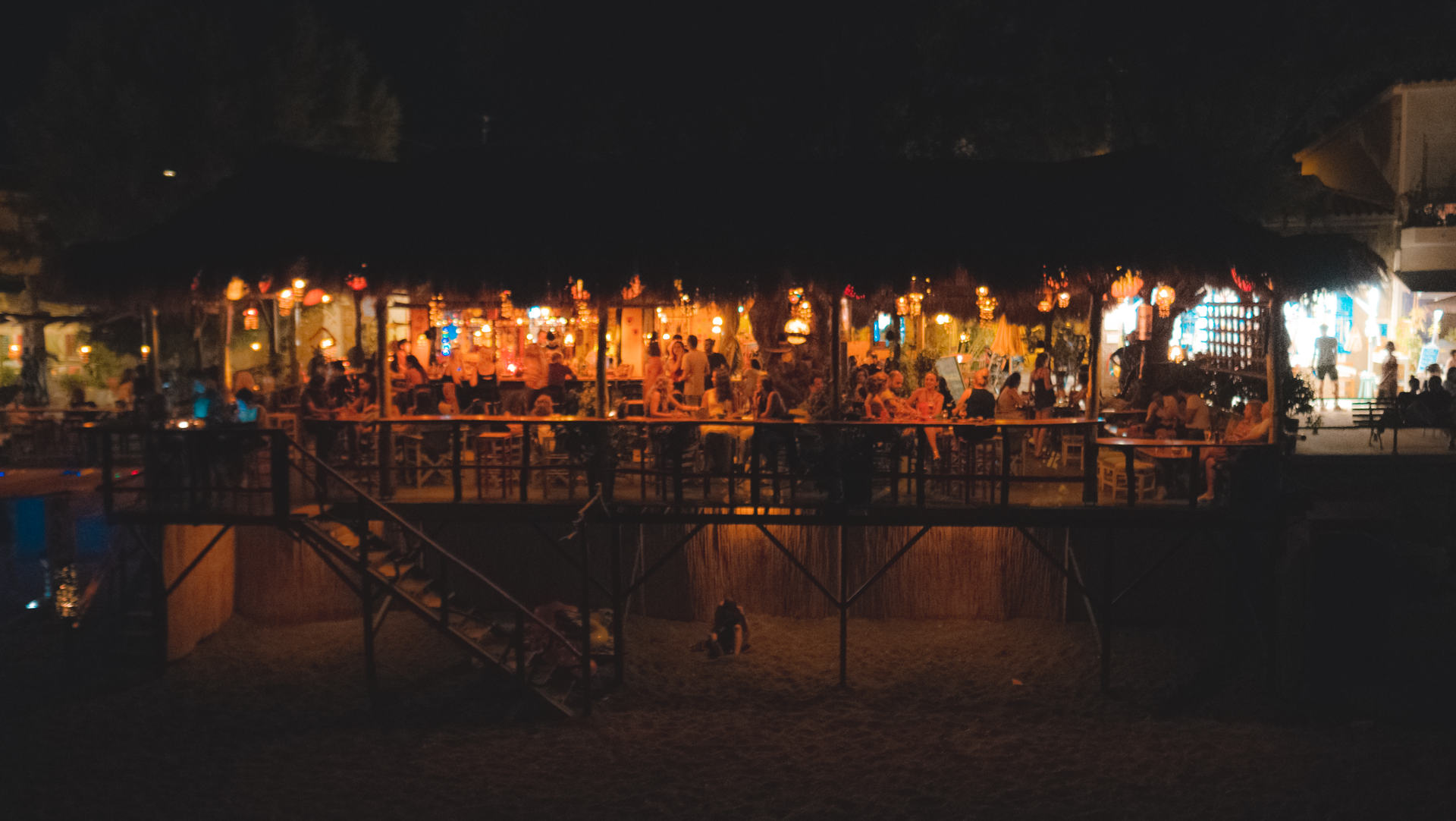 Nightlife in Lesvos island