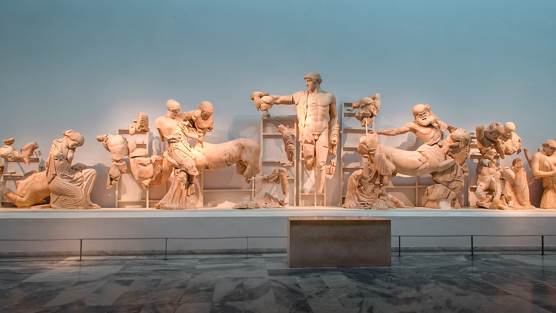 The Archaeological Museum of Ancient Olympia