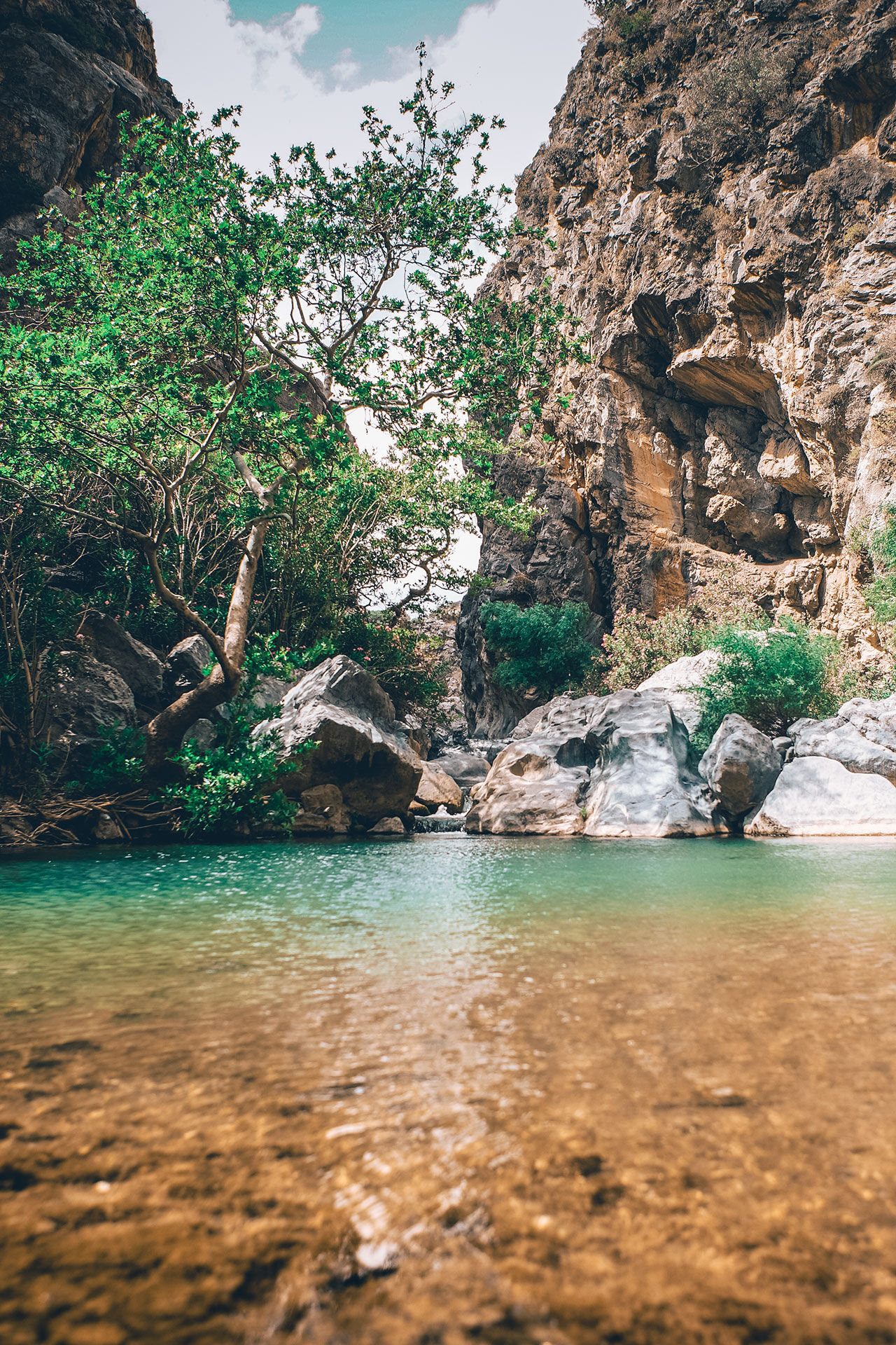 Preveli beach takes exotic to another level