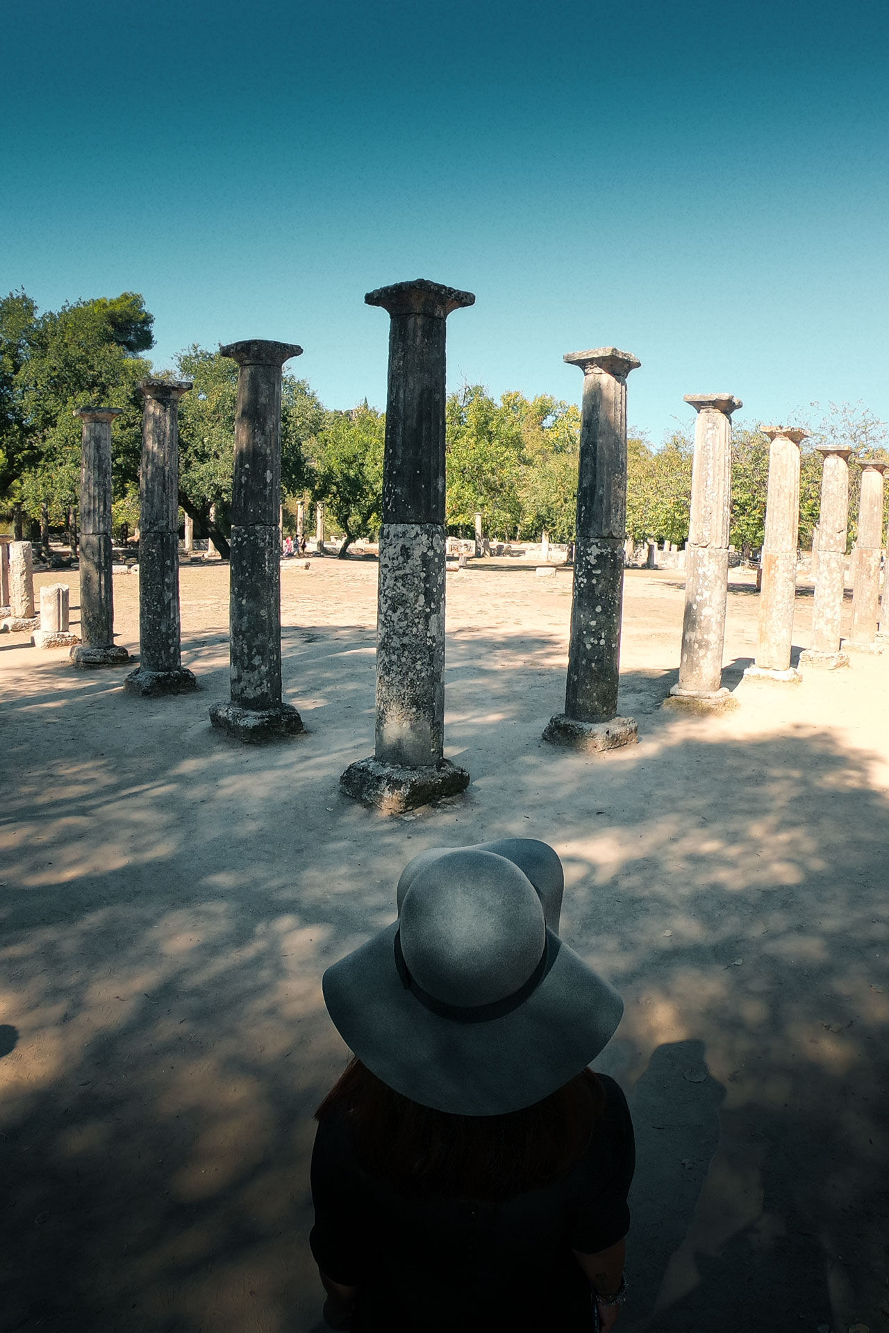 The Palaestra of Ancient Olympia