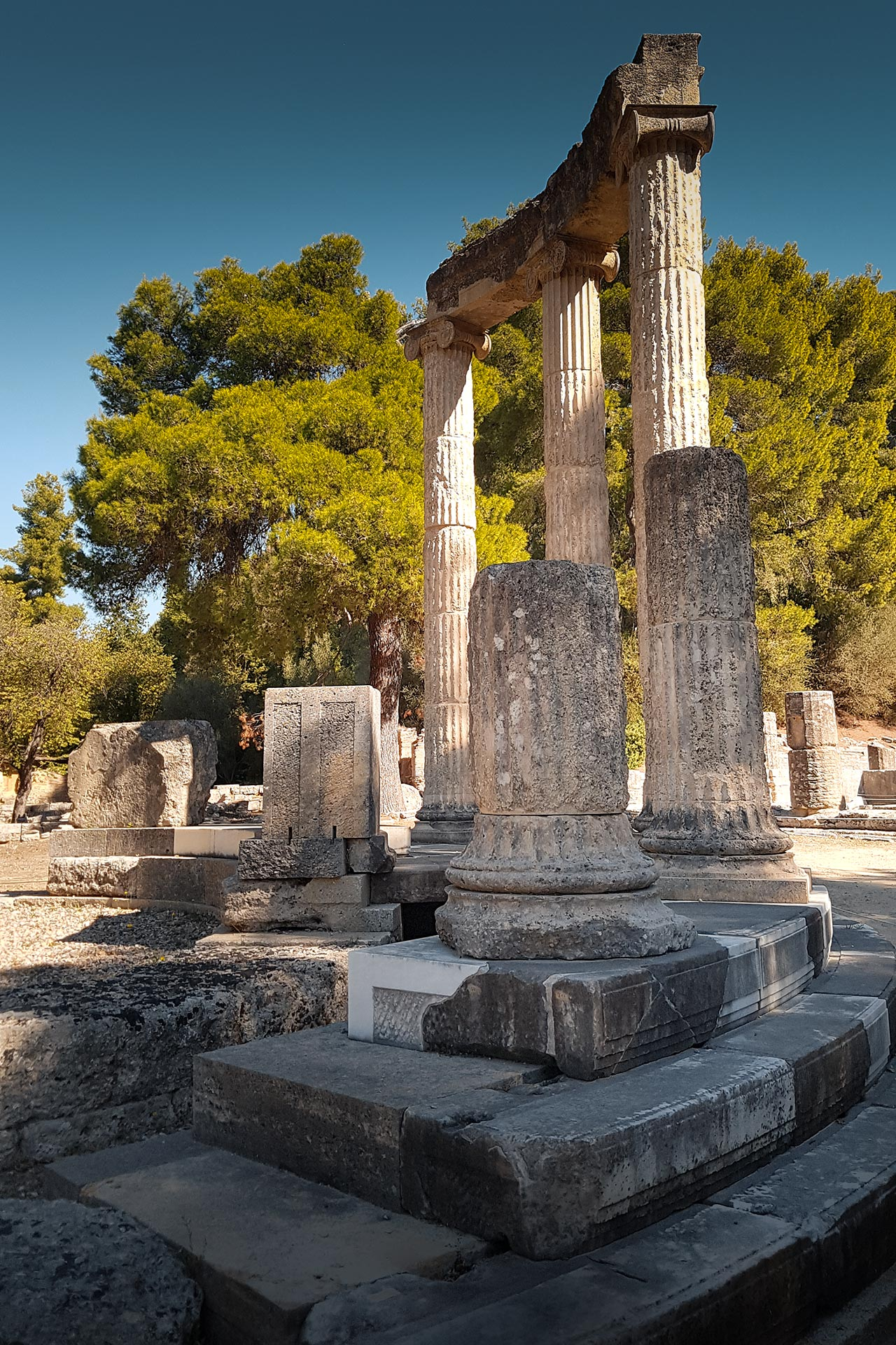 The Philippeion of Ancient Olympia
