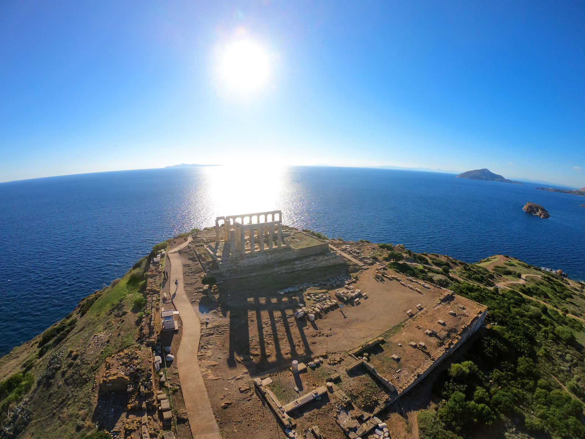 Temple of Poseidon, Sounio