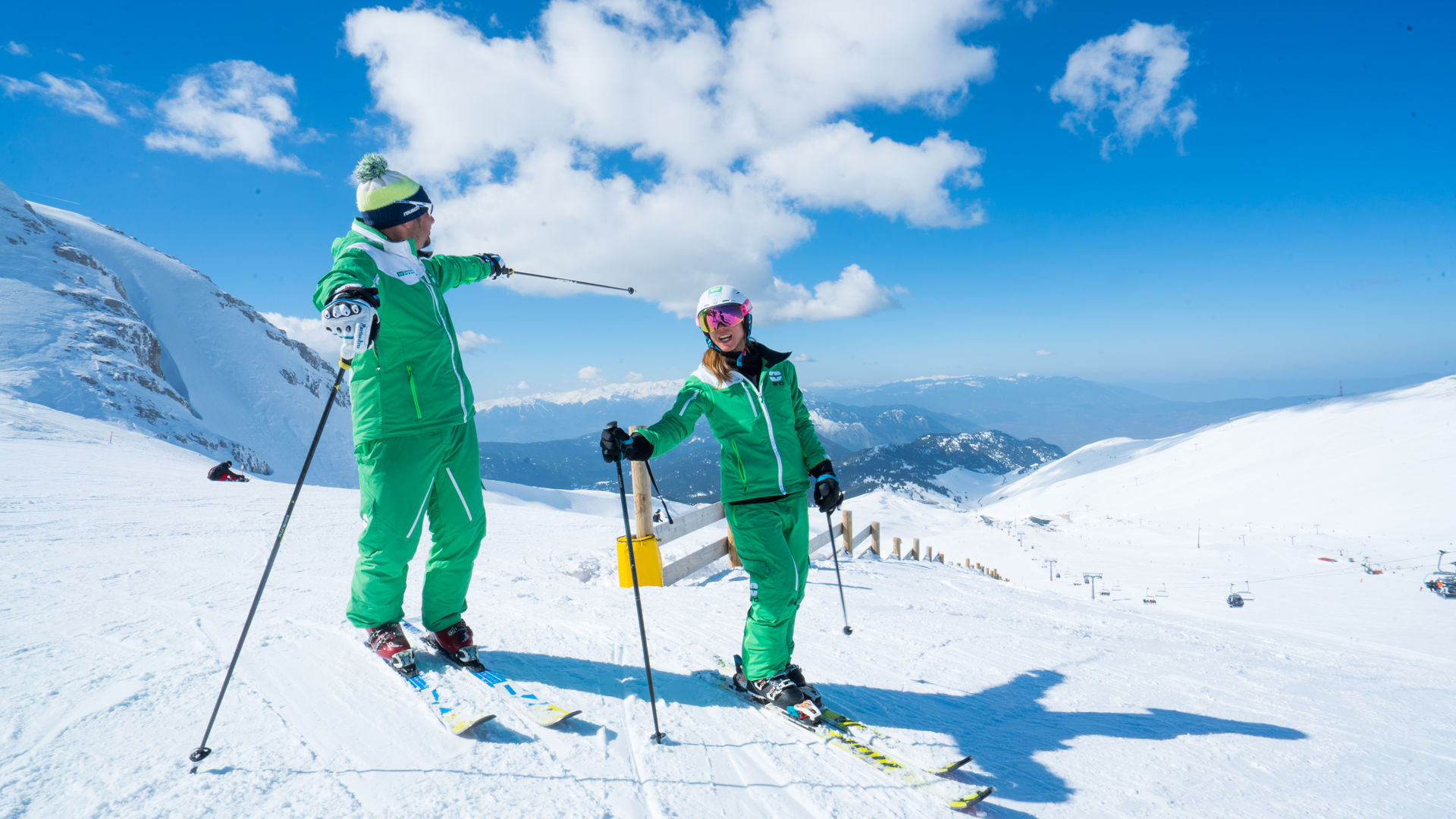 Parnassos Ski Resort: Skiing in Greece with sea view