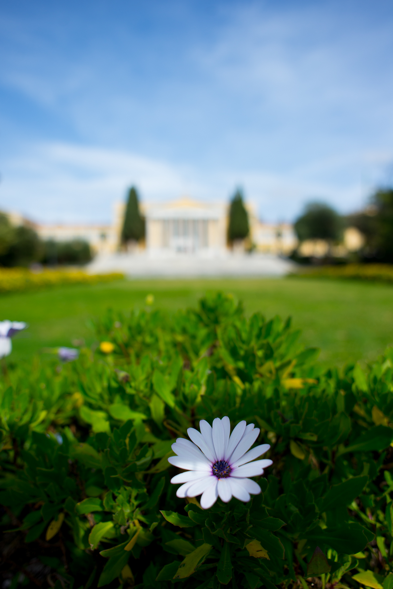 Zappeion hall near the National Garden of Athens