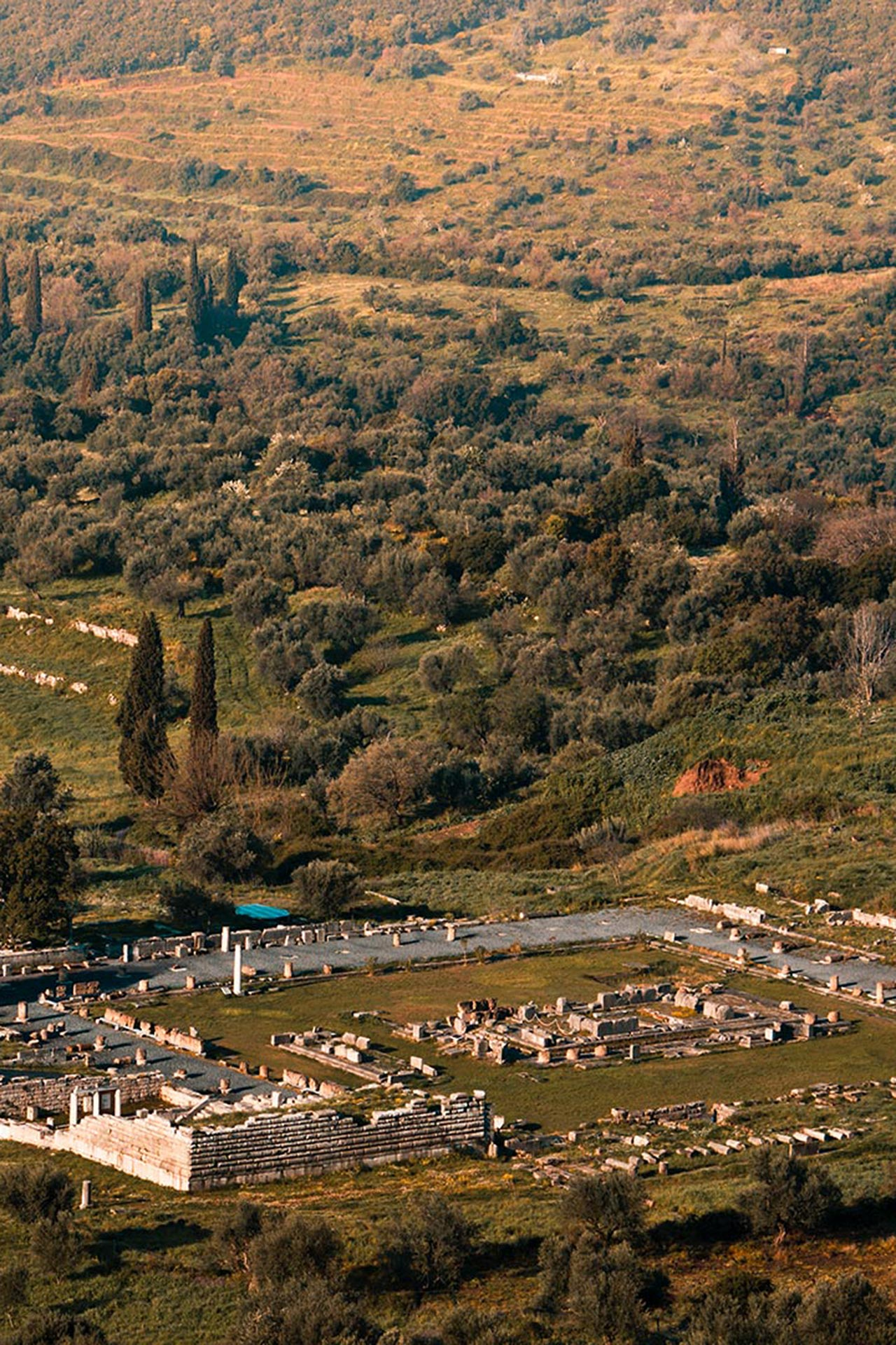 Ancient Messene is amongst the most complete settlements ever discovered