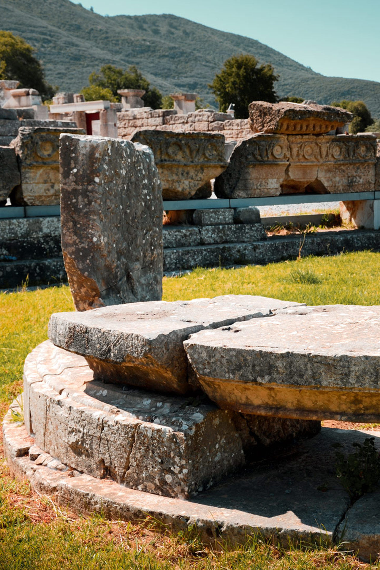 Ancient Messene ranks as one of the most significant remains of Greek antiquity