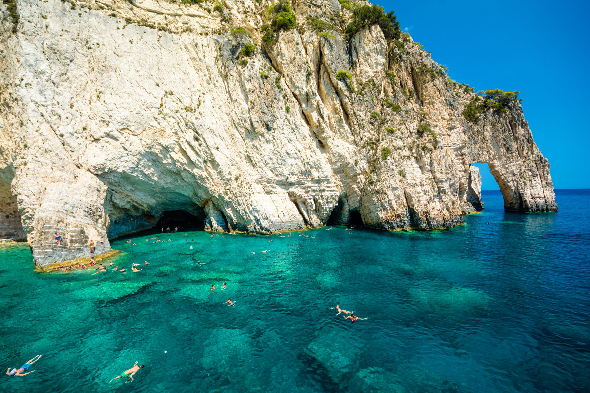 Snorkeling in the Blue Caves of Zakynthos