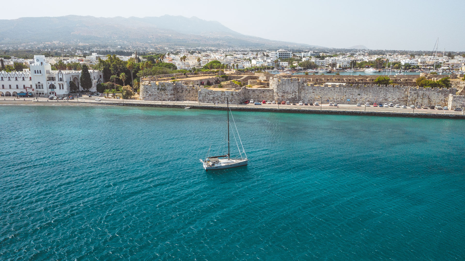 Don't forget to admire the seaside Castle of Neratzia, before you leave Kos harbour