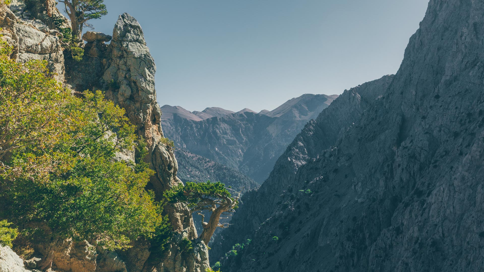 Samaria is the longest gorge in Greece and forms part of the E4 hiking trail that traverses Europe