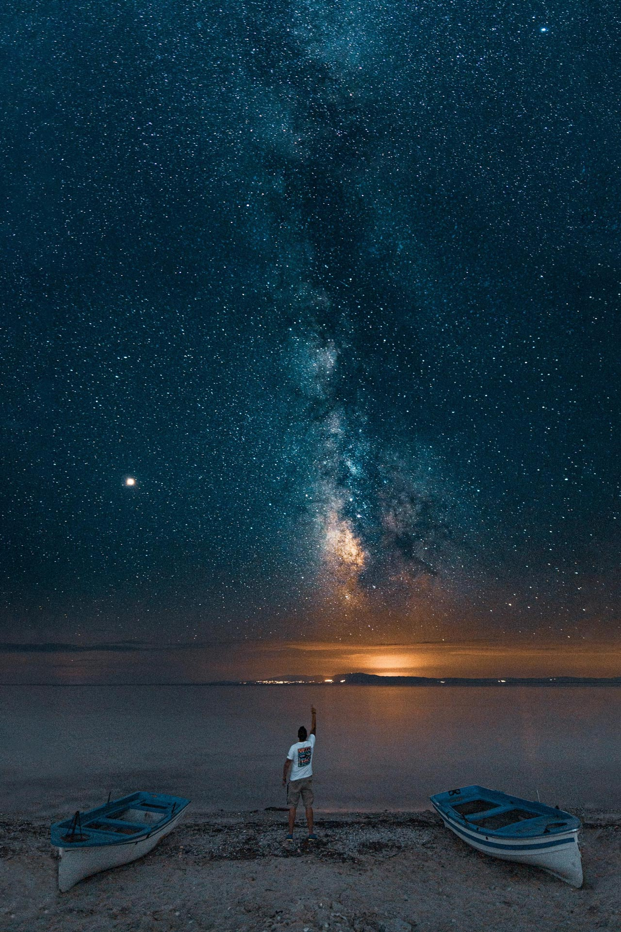 Stargazing at Posidi, Halkidiki-Paul Gilmore