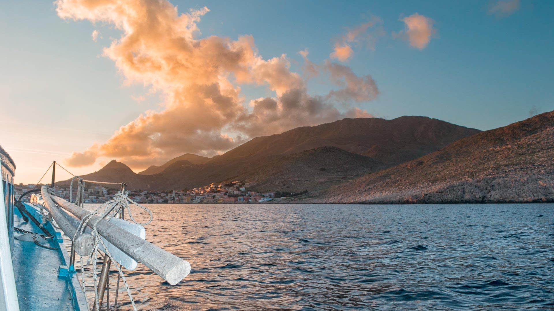 a daytrip from Rhodes to the smallest of the Dodecanese islands, with aristocratic mansion houses, quaint alleyways and age-old simple island life