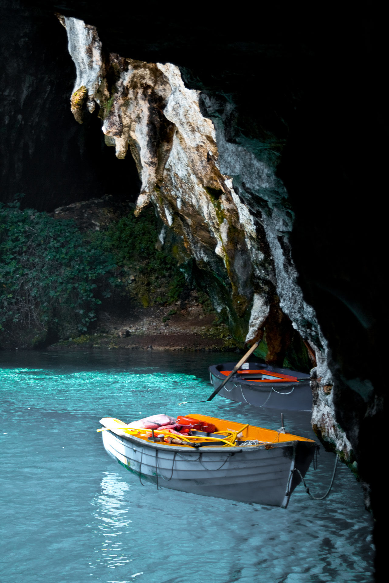 Visiting the Melissani Cave has rightly become a must-see for visitors to Kefalonia