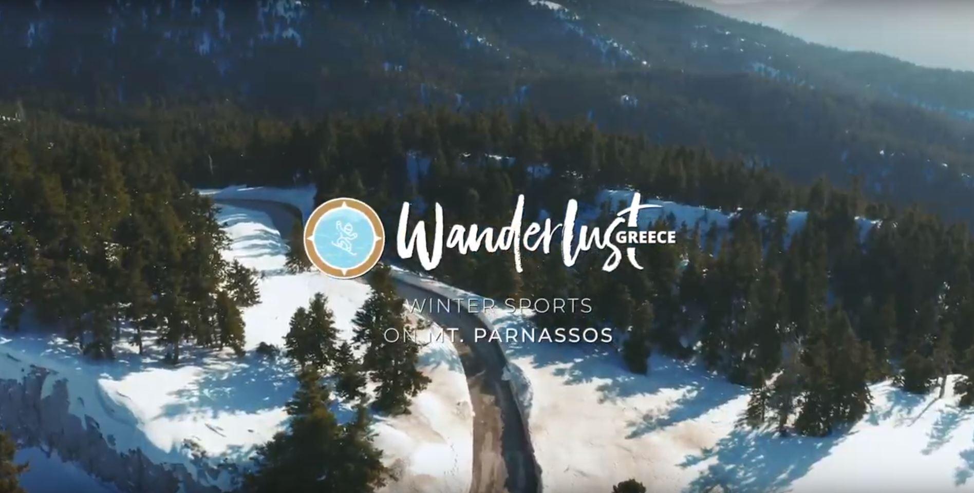 Winter Sports on Mt. Parnassos - video