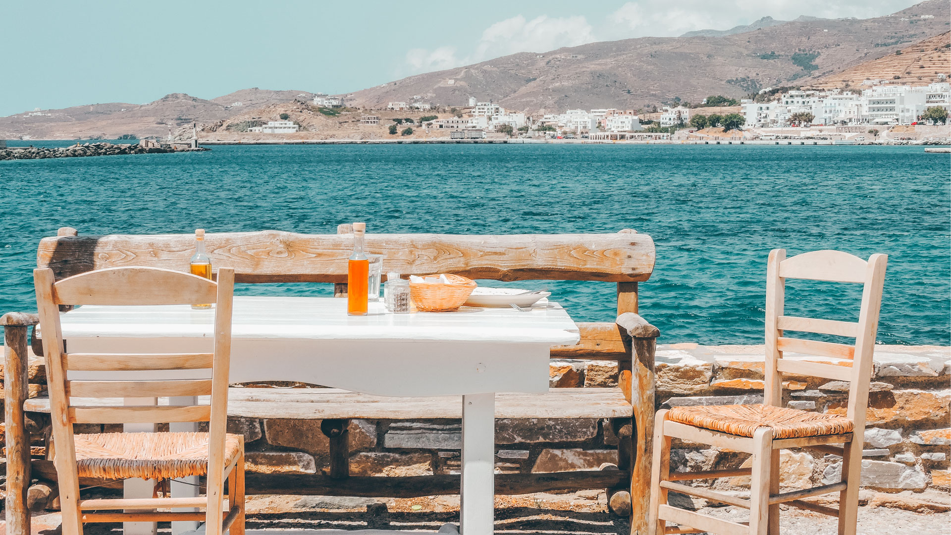 A culinary tour of Tinos includes exploring the island's unique landscape and villages