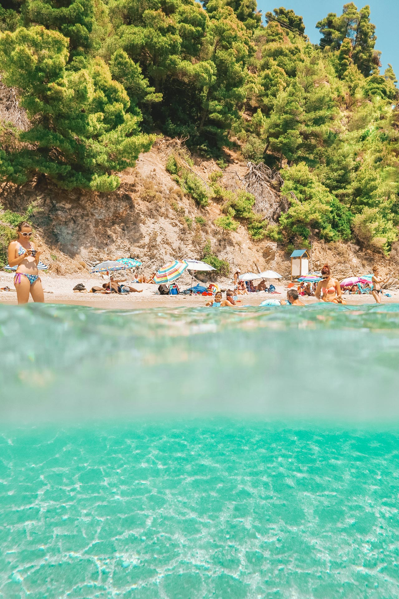If your holiday priorities are relaxation and natural beauty, then make your way to Skopelos