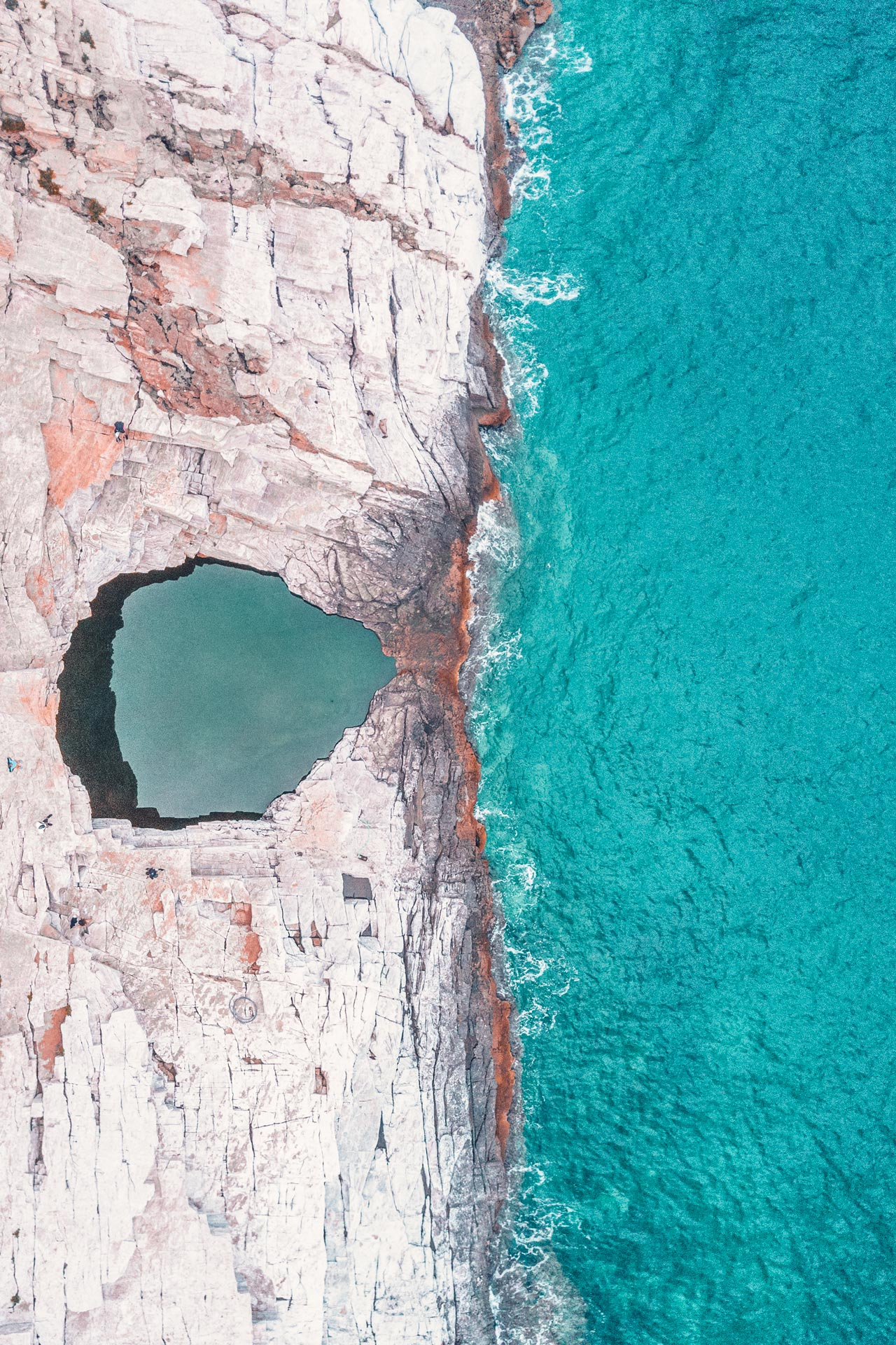 It takes just one glimpse of the natural rock pool known as Aphrodite's Tear to understand how Giola has assumed mythical status