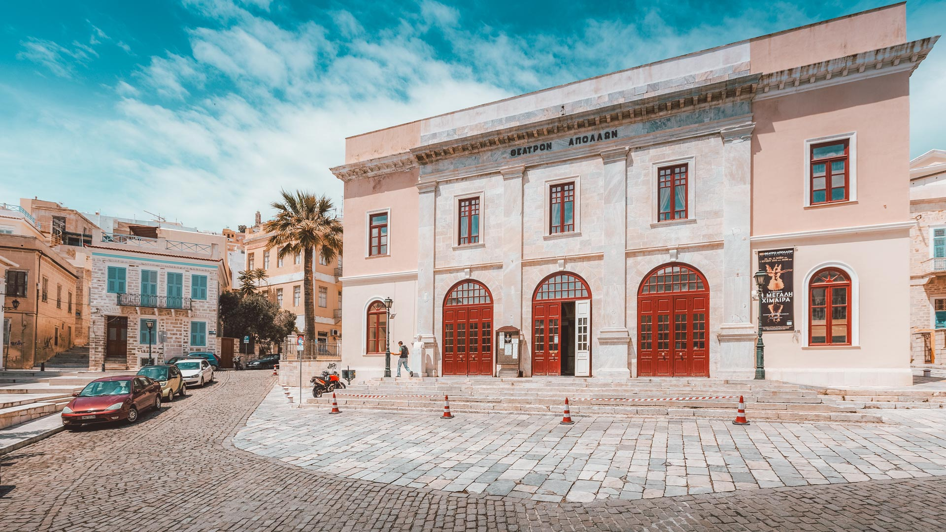 No building demonstrates the cultural blossoming of Syros more than the Apollo Theatre