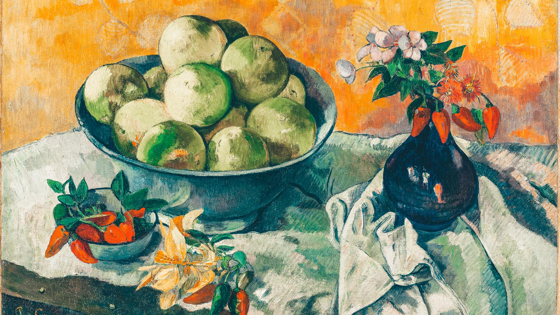 Gauguin Paul, Nature morte aux pamplemousses