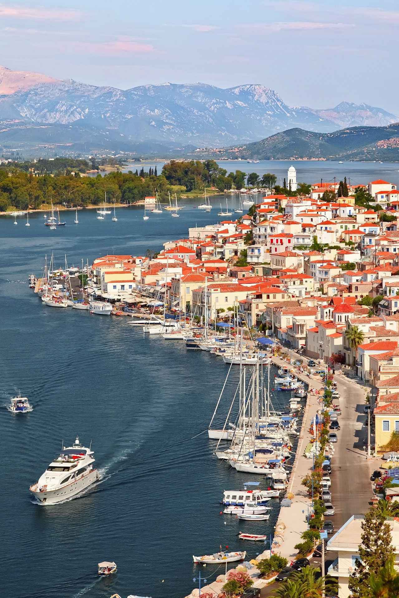 View of Poros from above