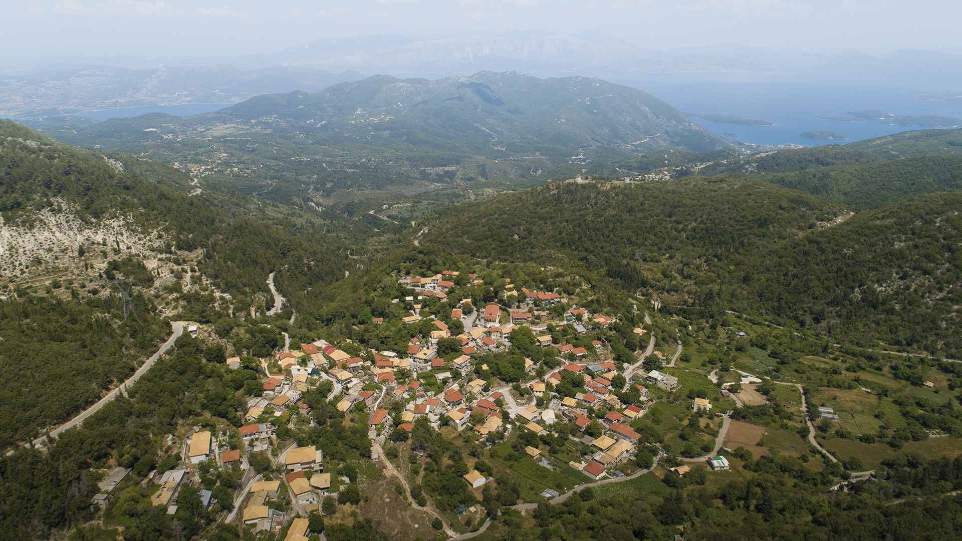 Village-hopping in Lefkada