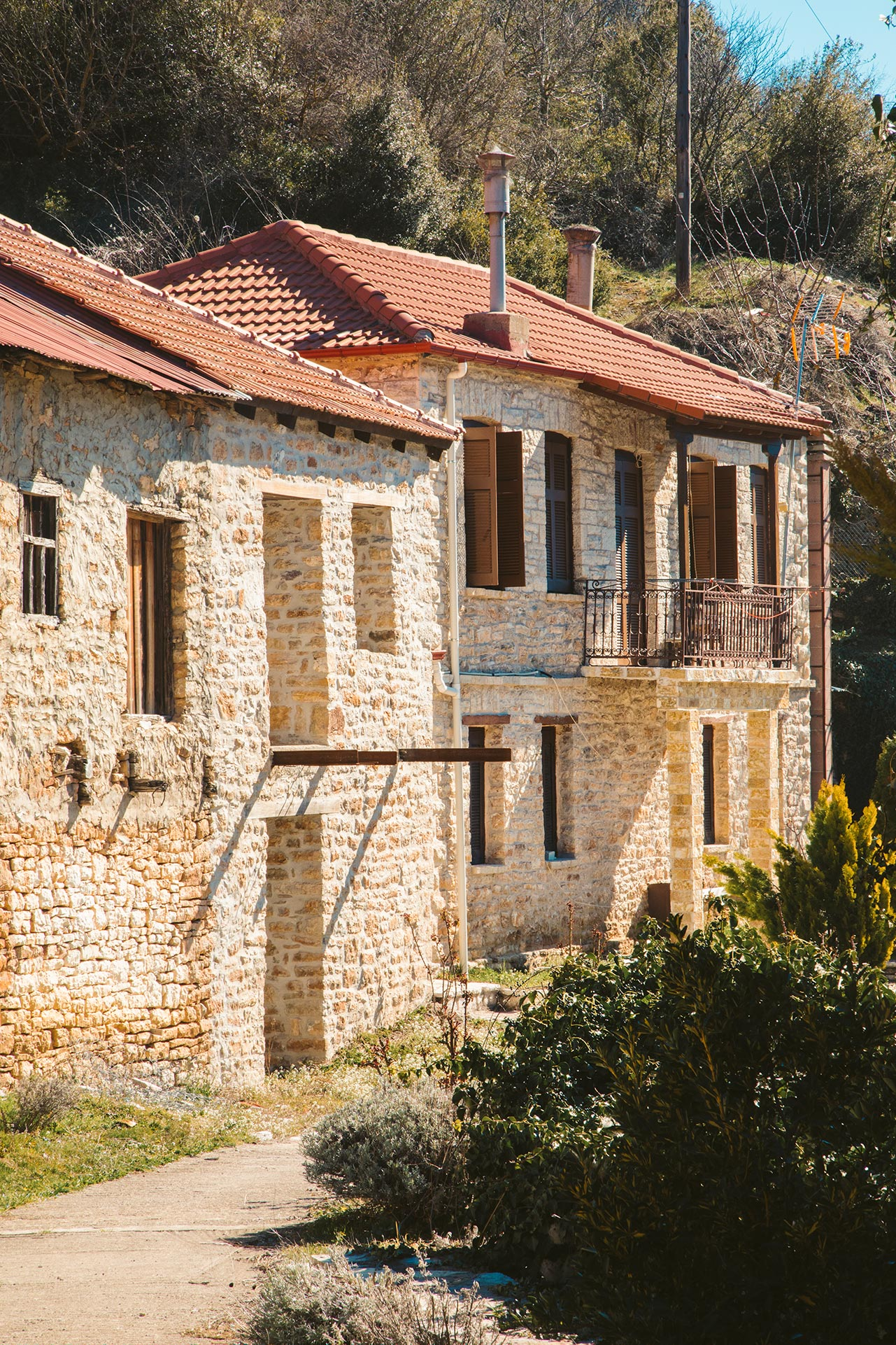 Korischades village is full of history and tradition
