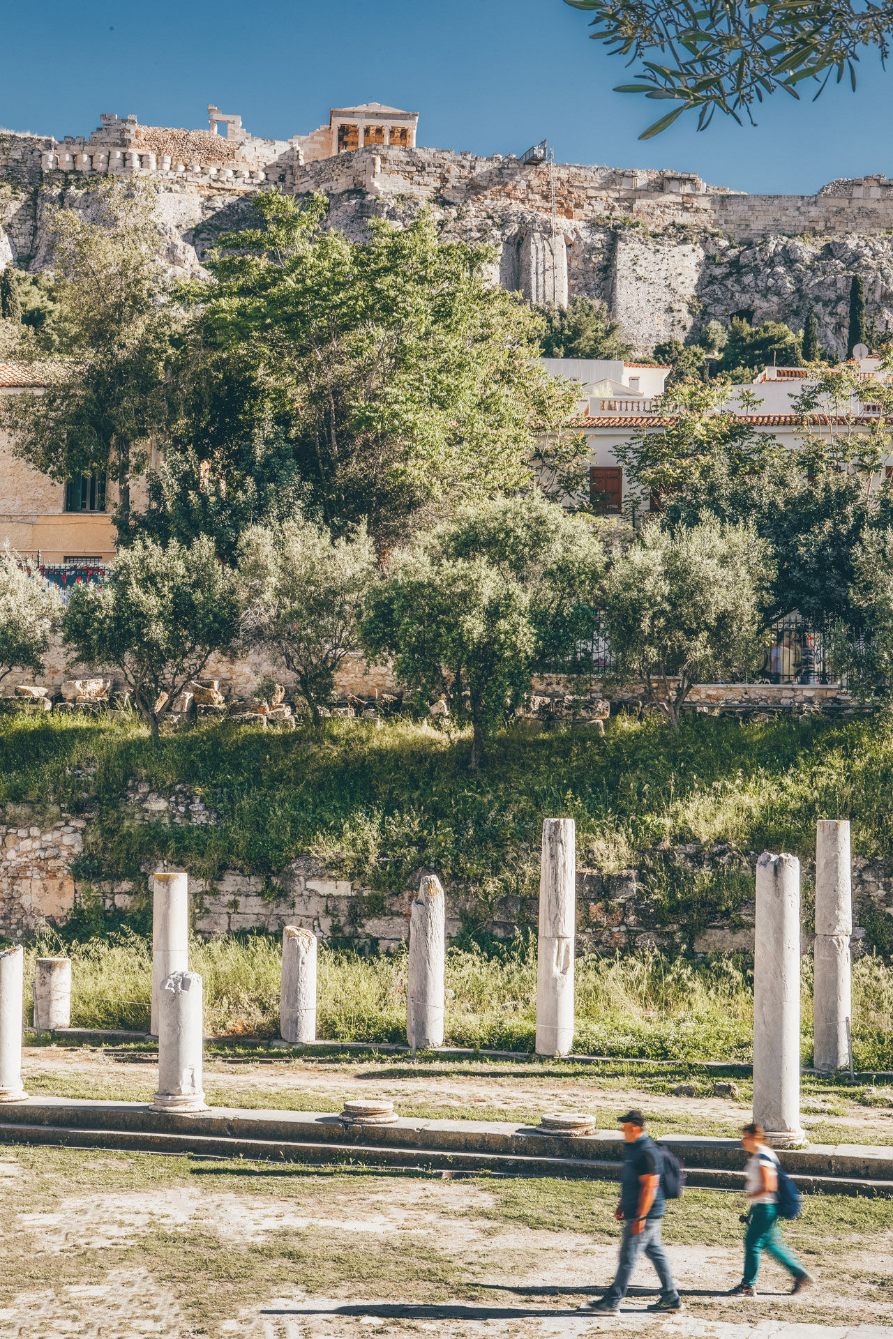 The Roman Agora was the centre of urban life during the Roman occupation of Athens