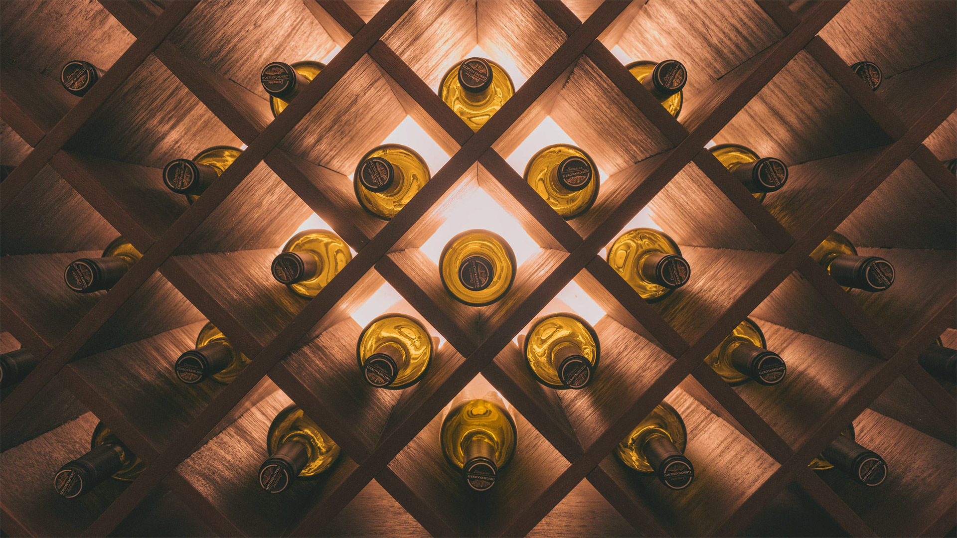 The mystery behind discovering a wine cellar
