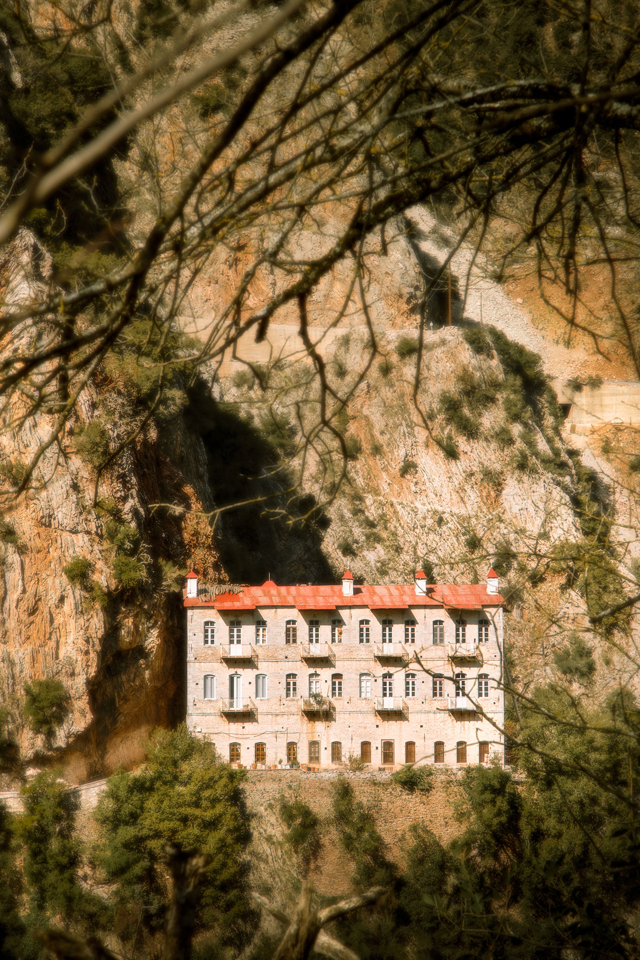 It's a slightly longer walk but it's worth starting your hike from the Monastery of Panagia Prousiotissa