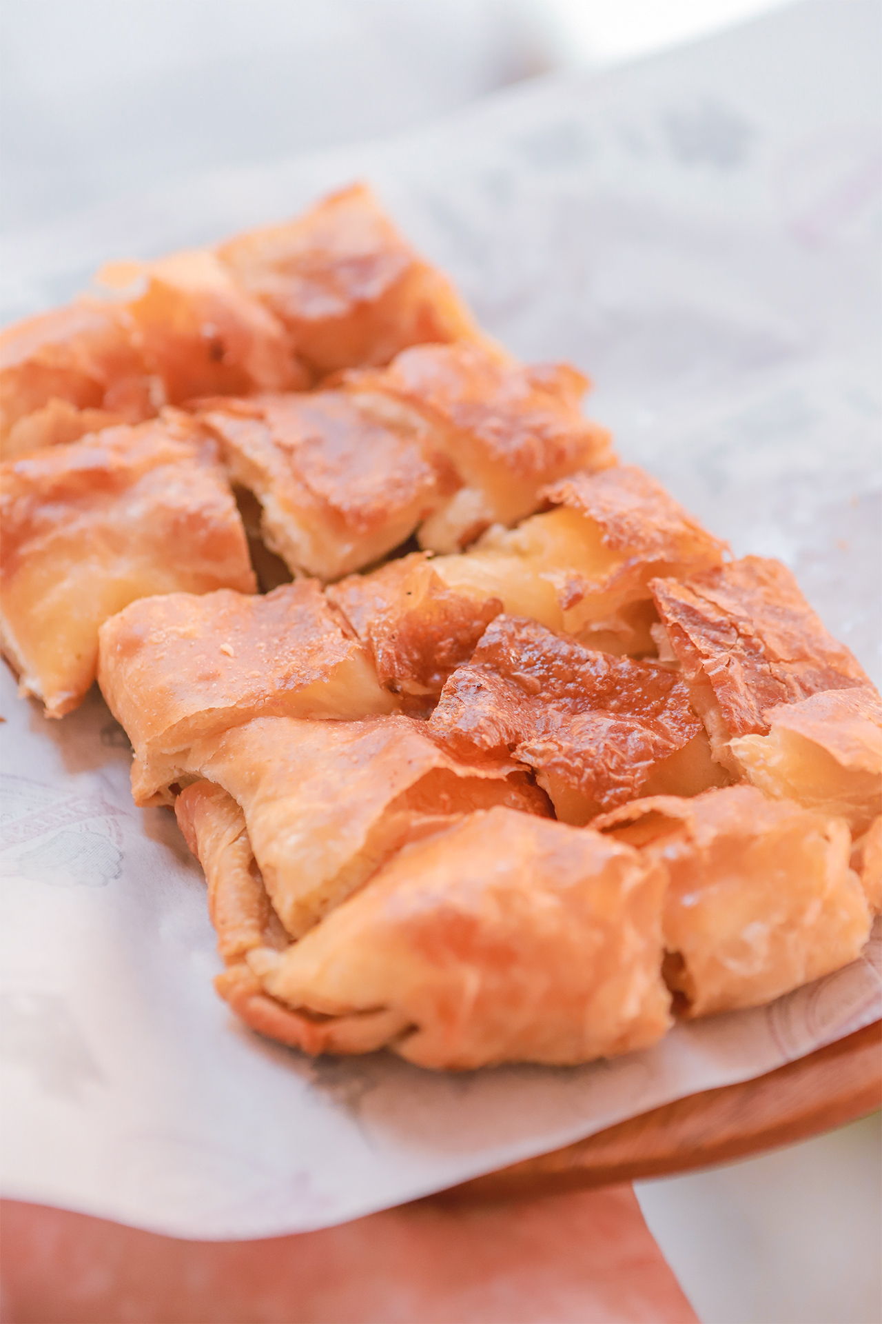 Treat yourself to a bougatsa