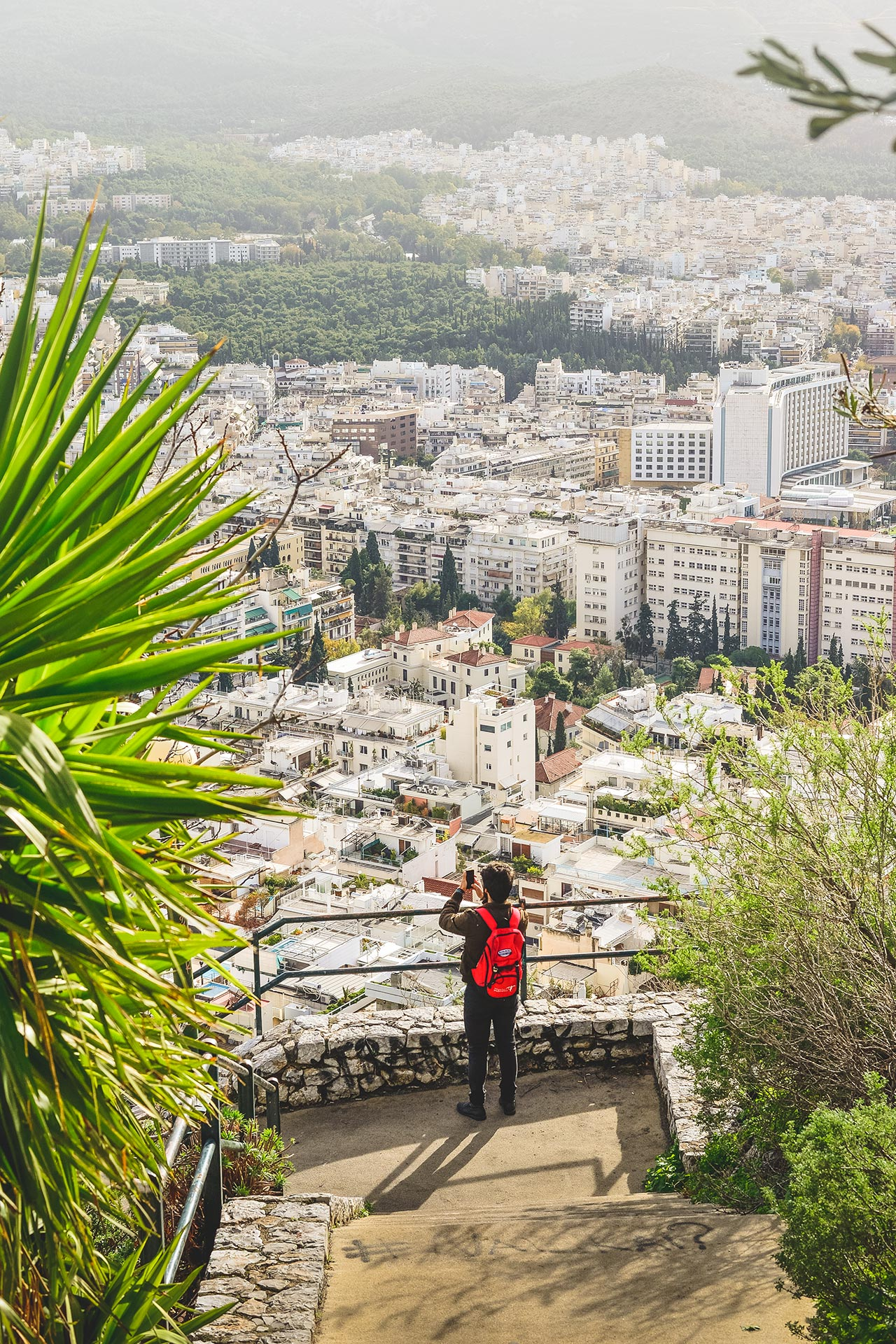 Walk to the summit of Lycabettus Hill