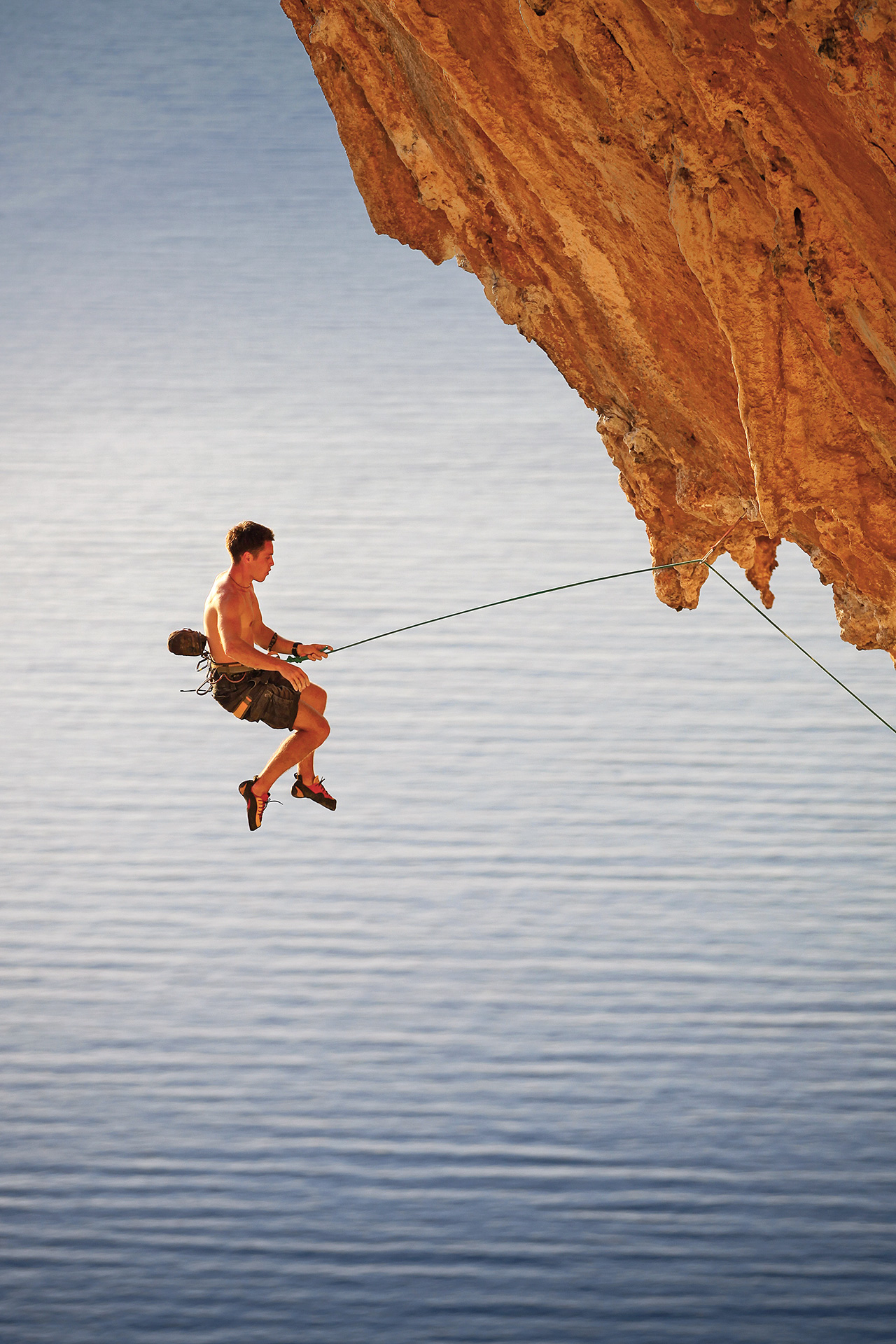 Rock climbing with style, in Kalymnos island