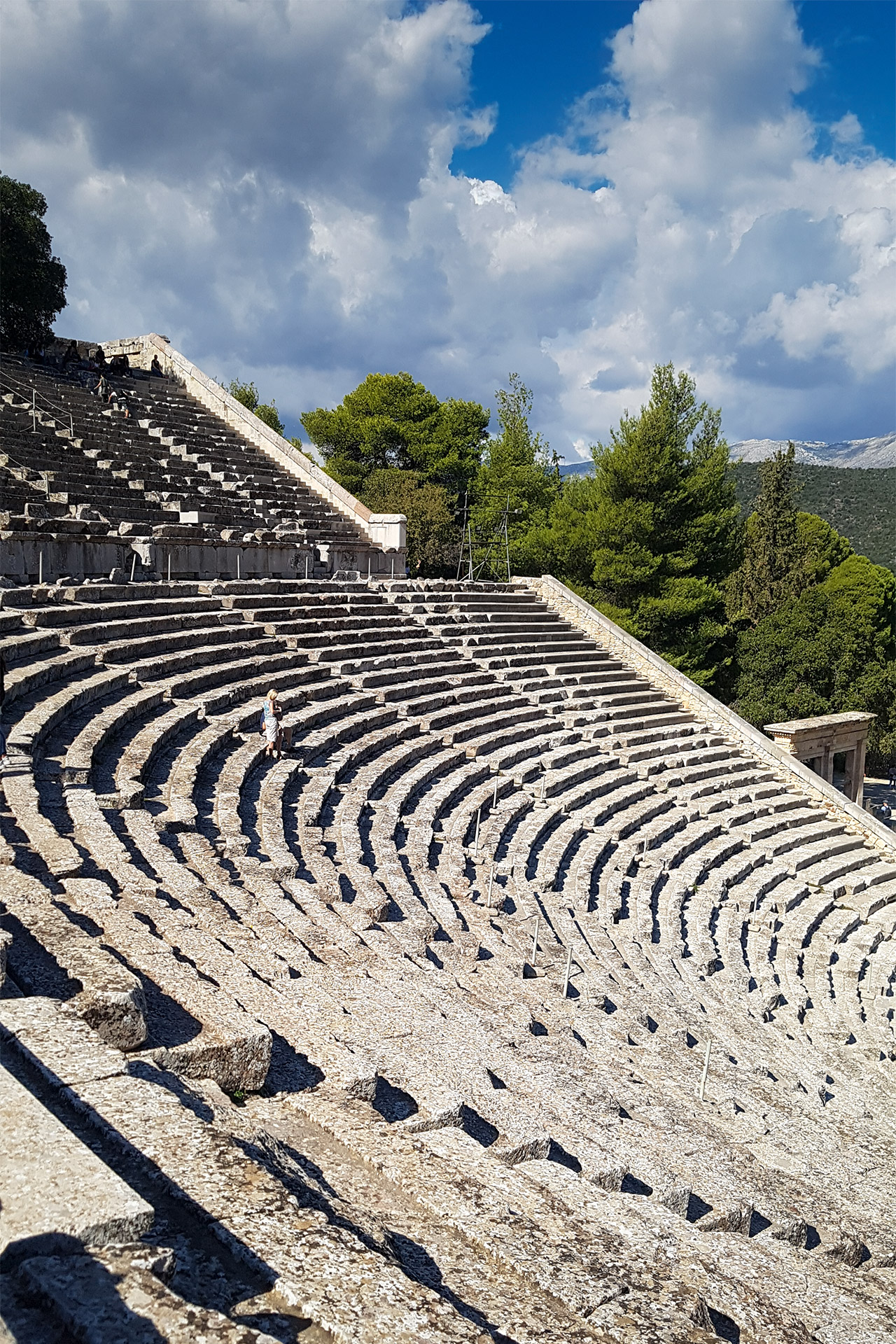 Greece's best-preserved ancient theatre and one of the most perfect structures of antiquity