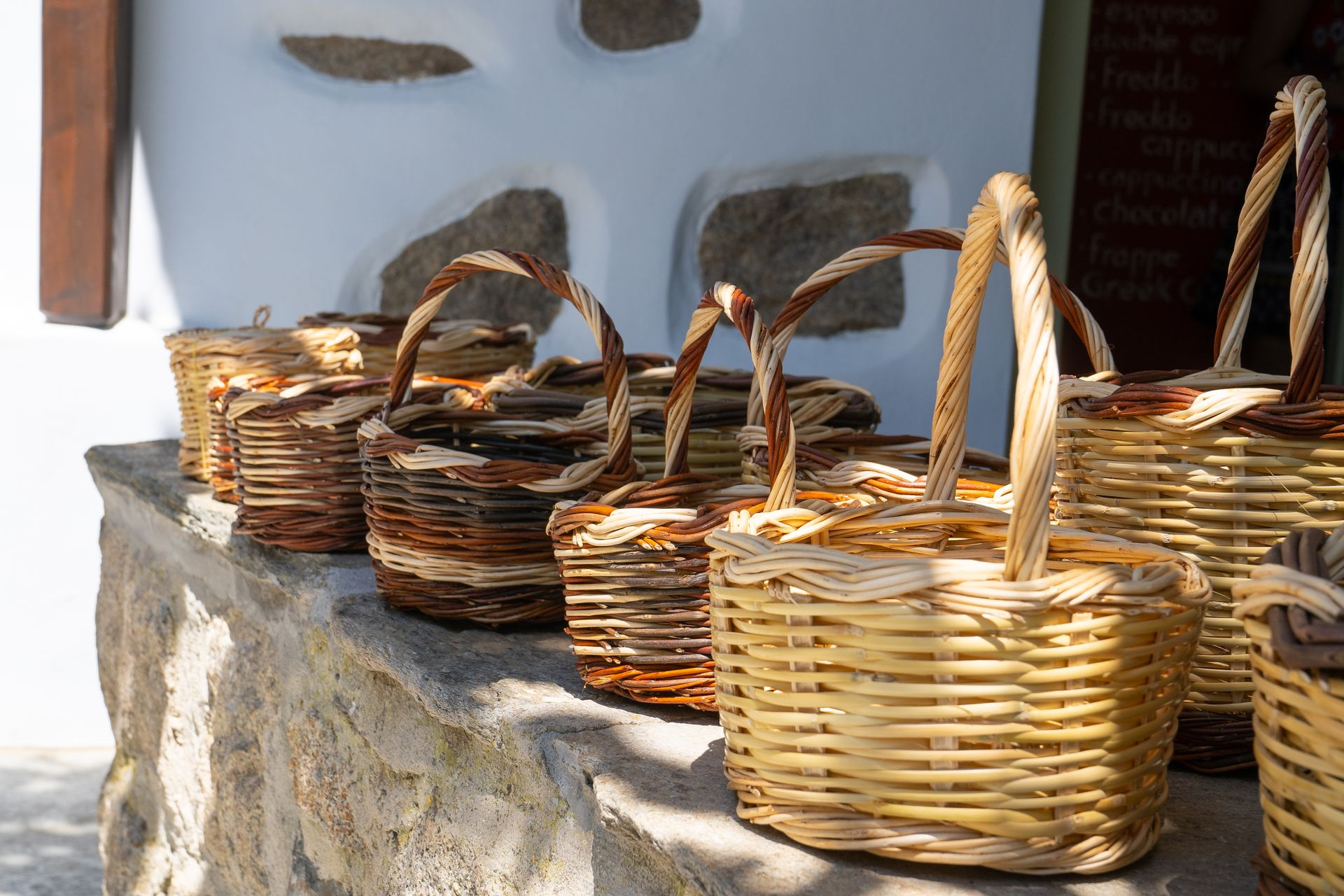 Volax is also a village of basket-weavers