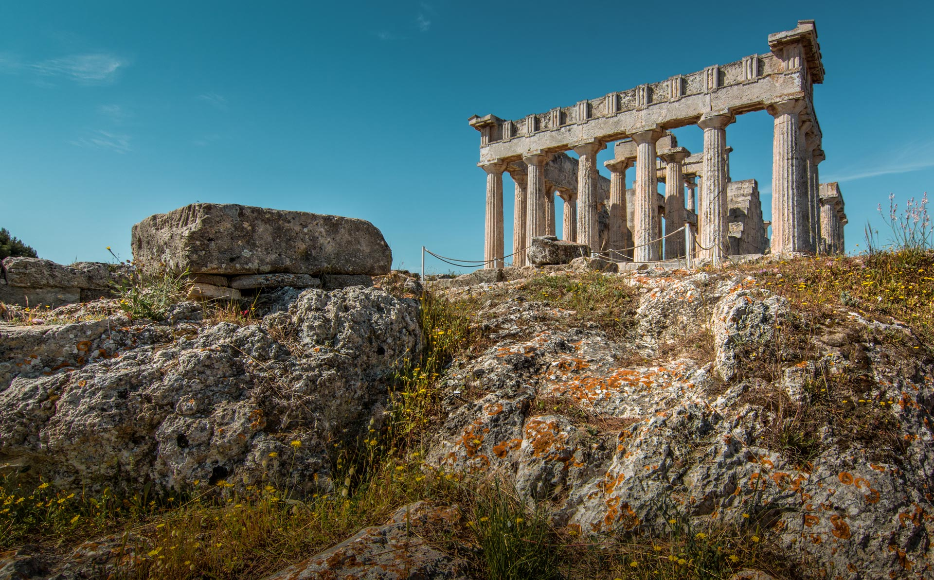 The temple of Aphaia, Aegina