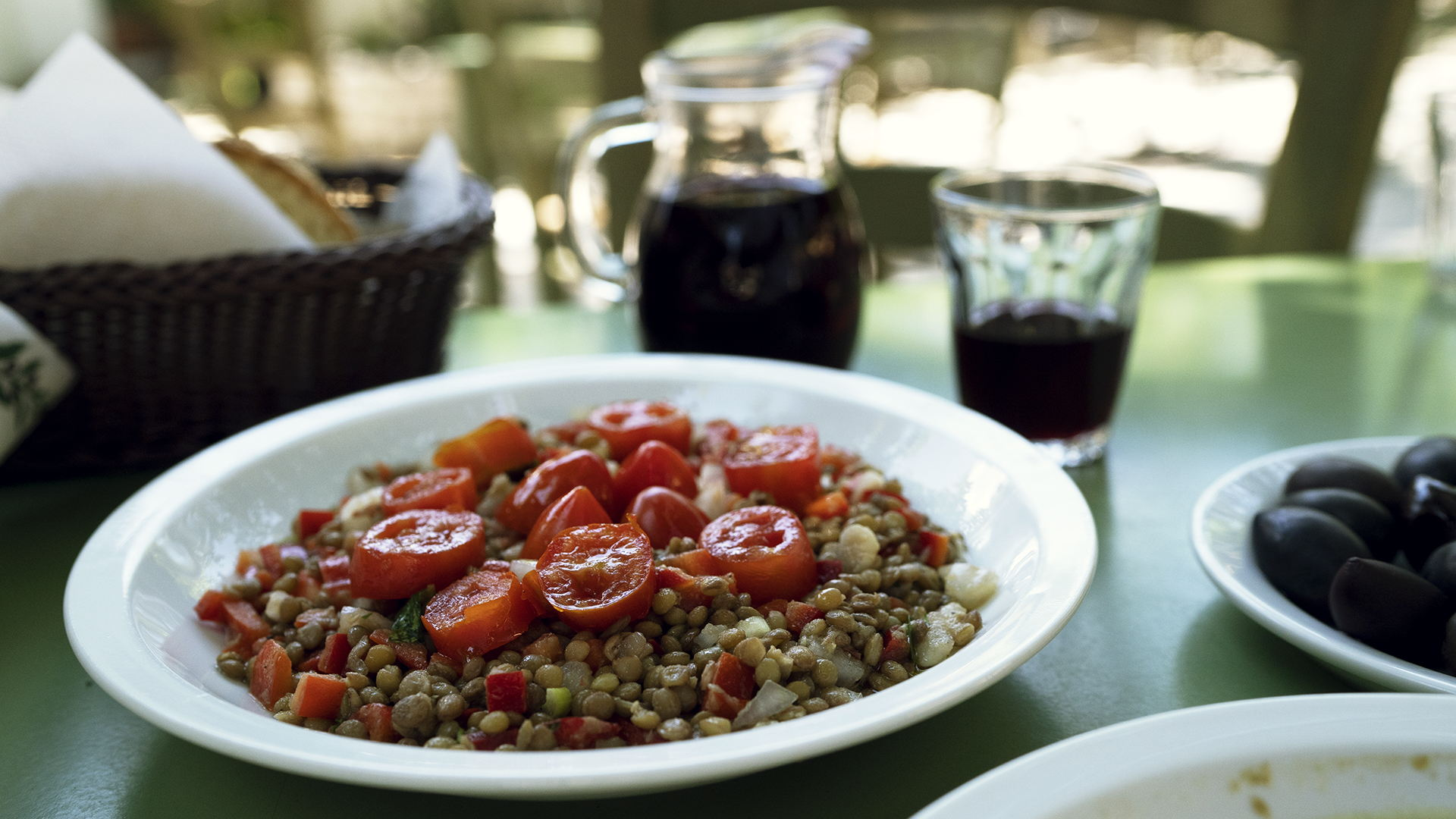Lefkadas' lentils are famed for their taste