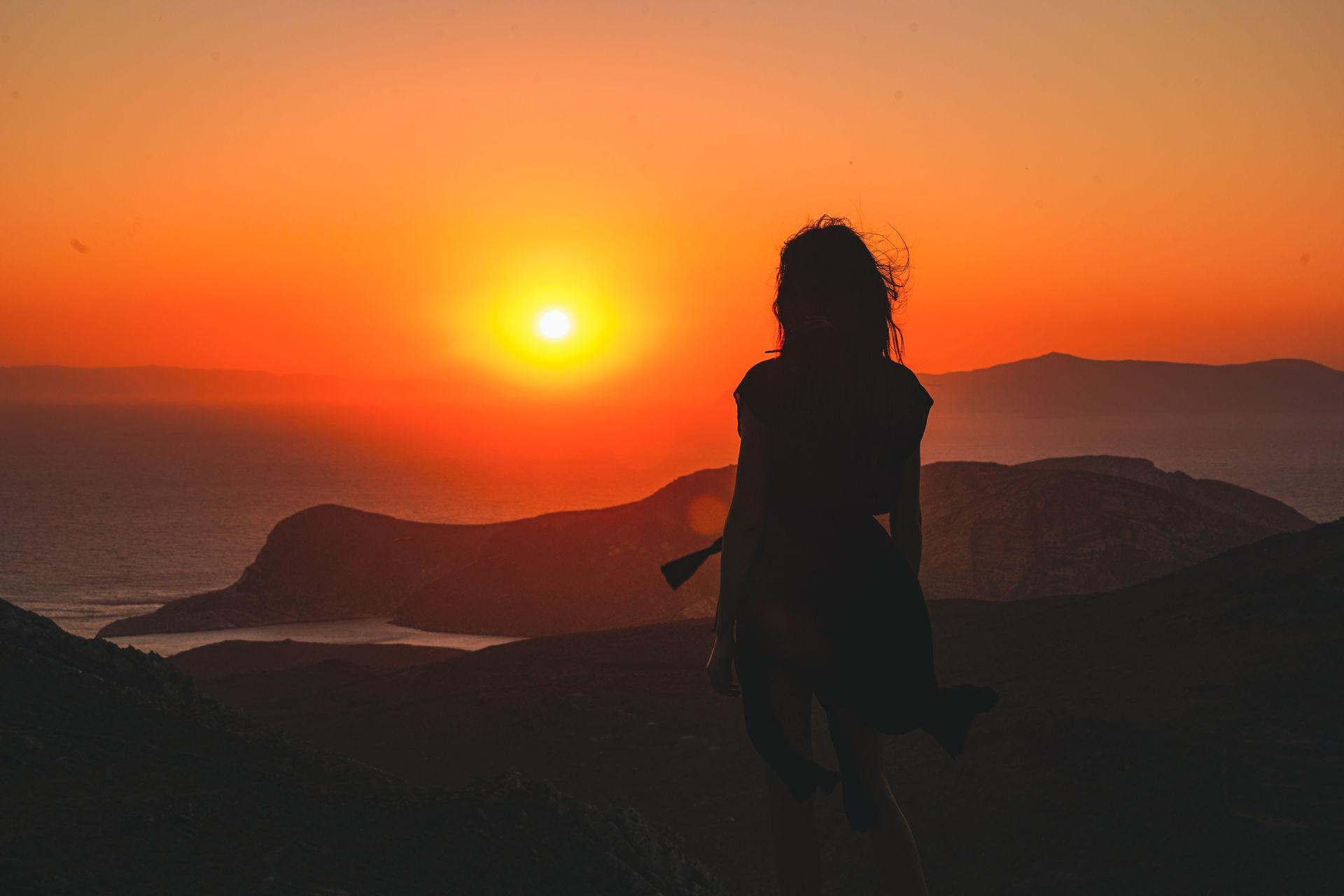 San Michali sunset