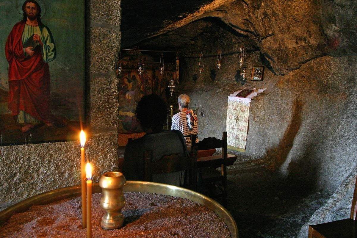 Cave of the Revelation in Patmos