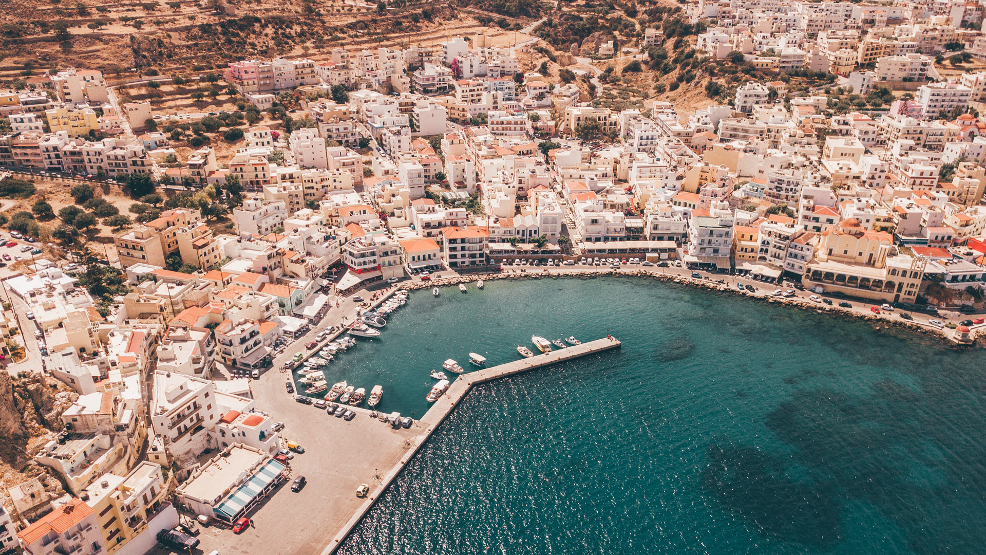 Pigadia the capital of Karpathos and the main port-1