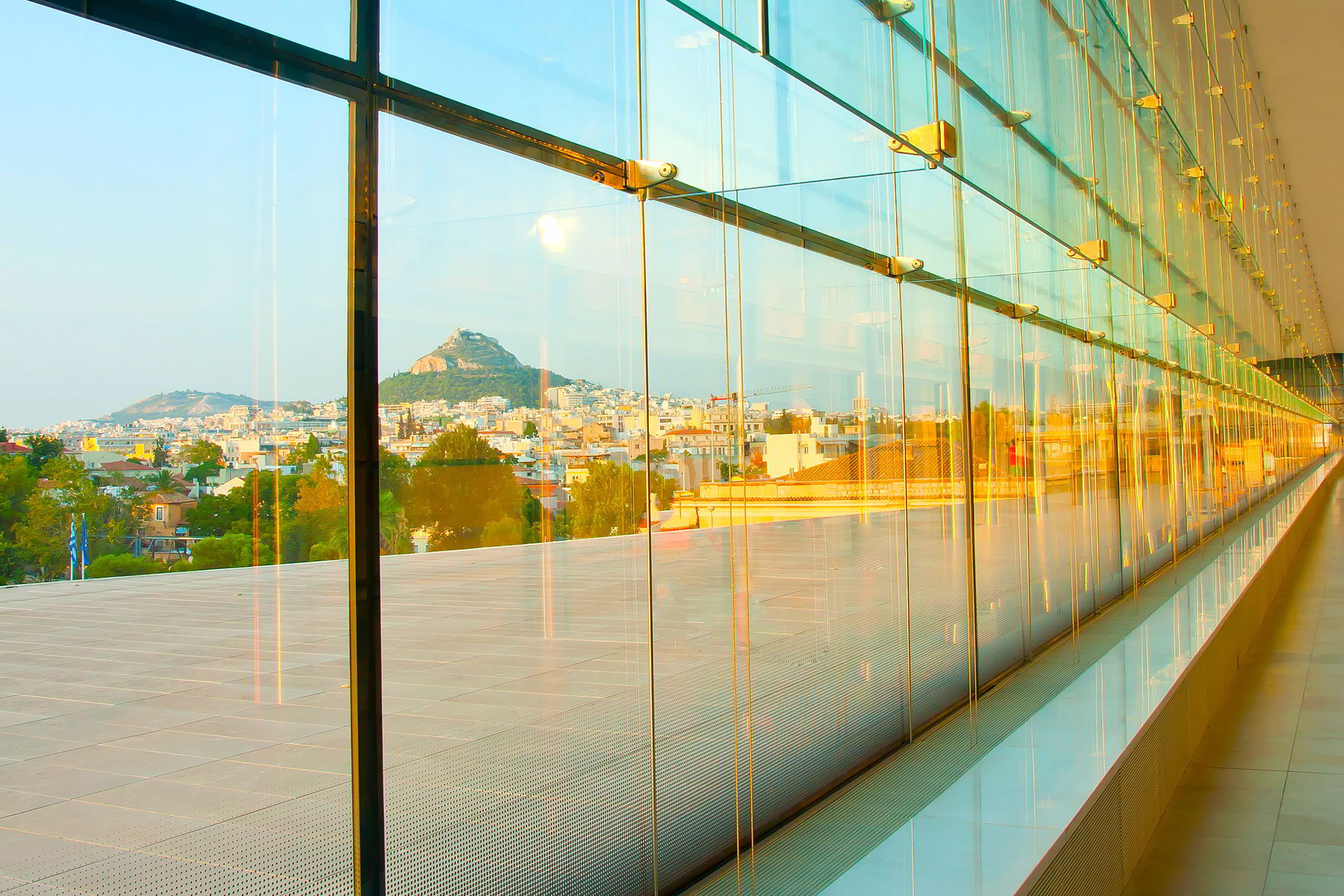 Acropolis Museum windows