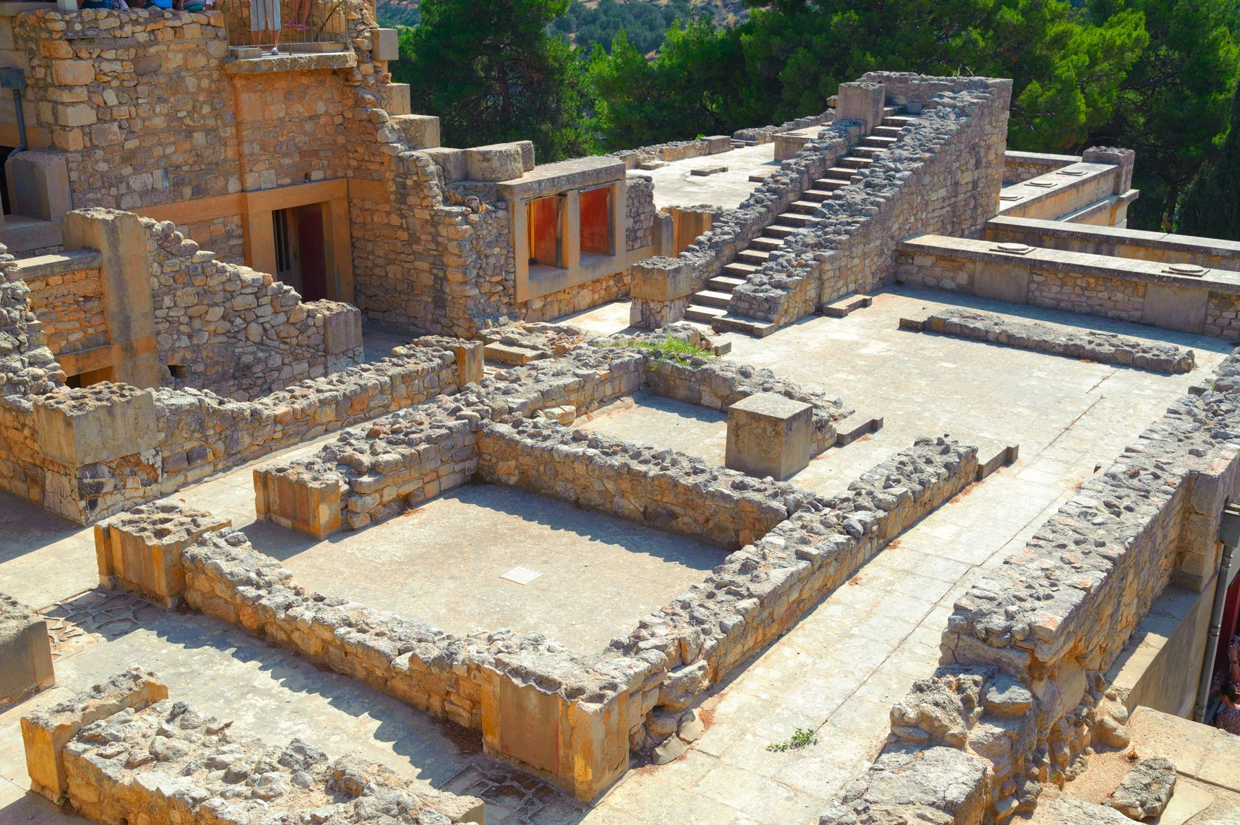Archaeological finds in Knossos, Heraklion