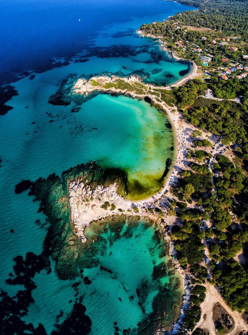 Halkidiki Beaches near Thessaloniki