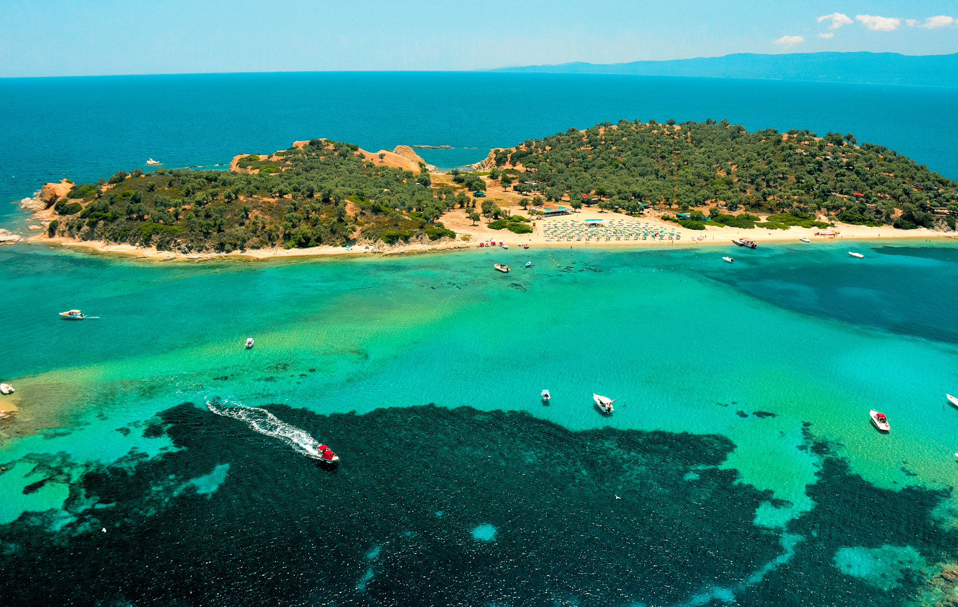 Halkidiki drone photography