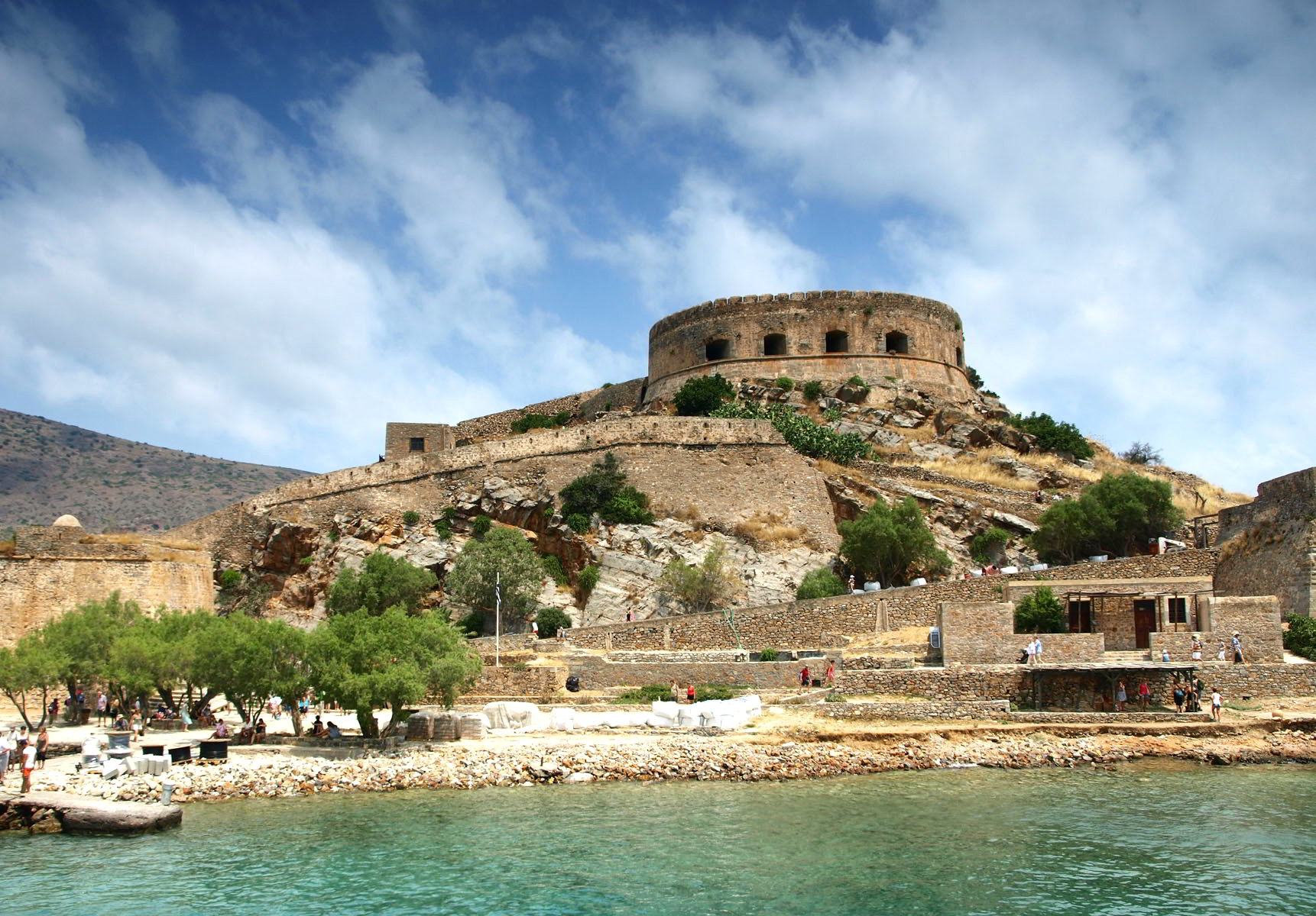 Spinalonga, the old leper colony