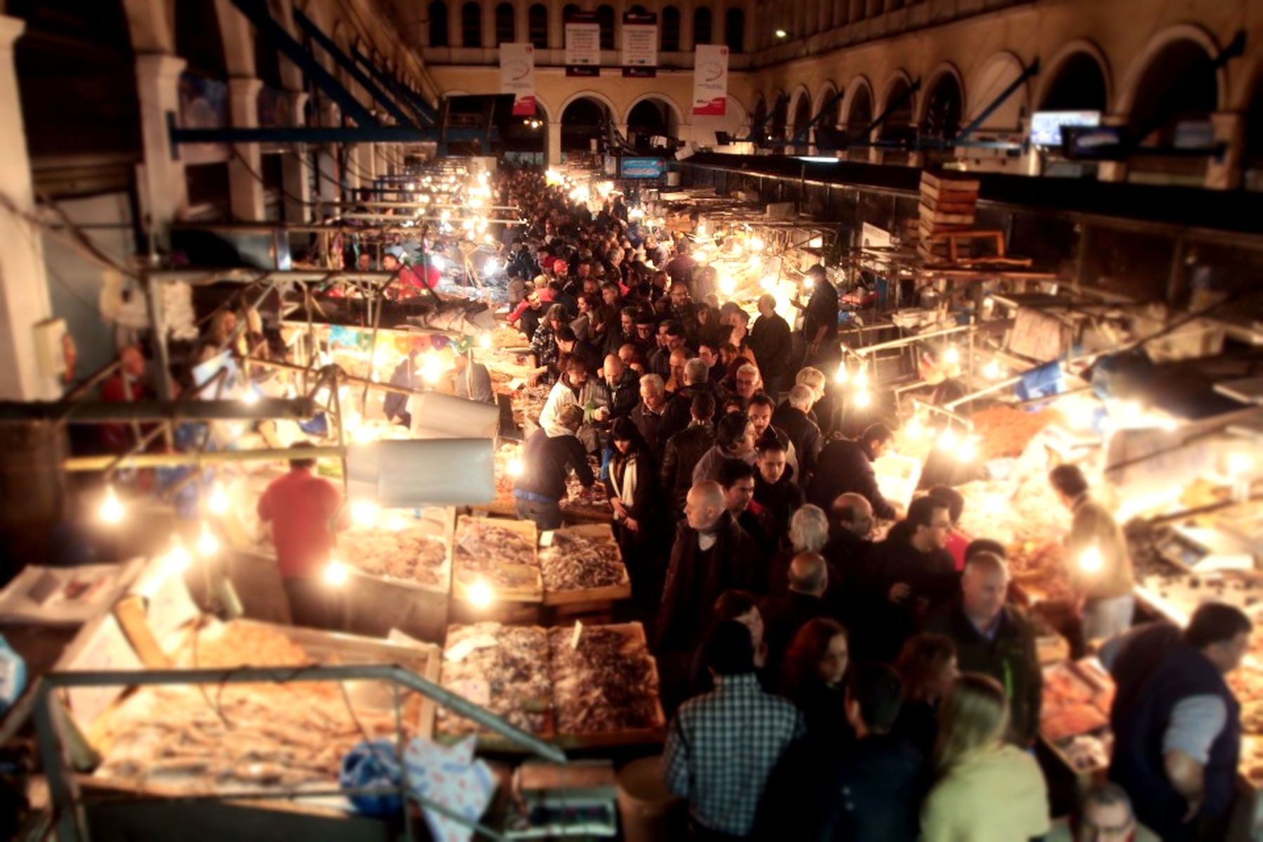 Varvakeios The-Central-market-of-Athens