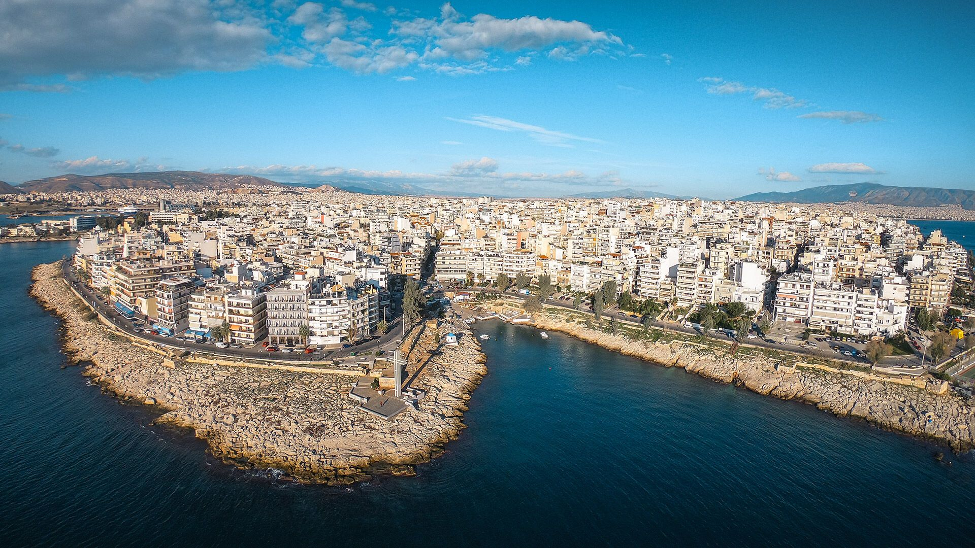 Piraeus from above