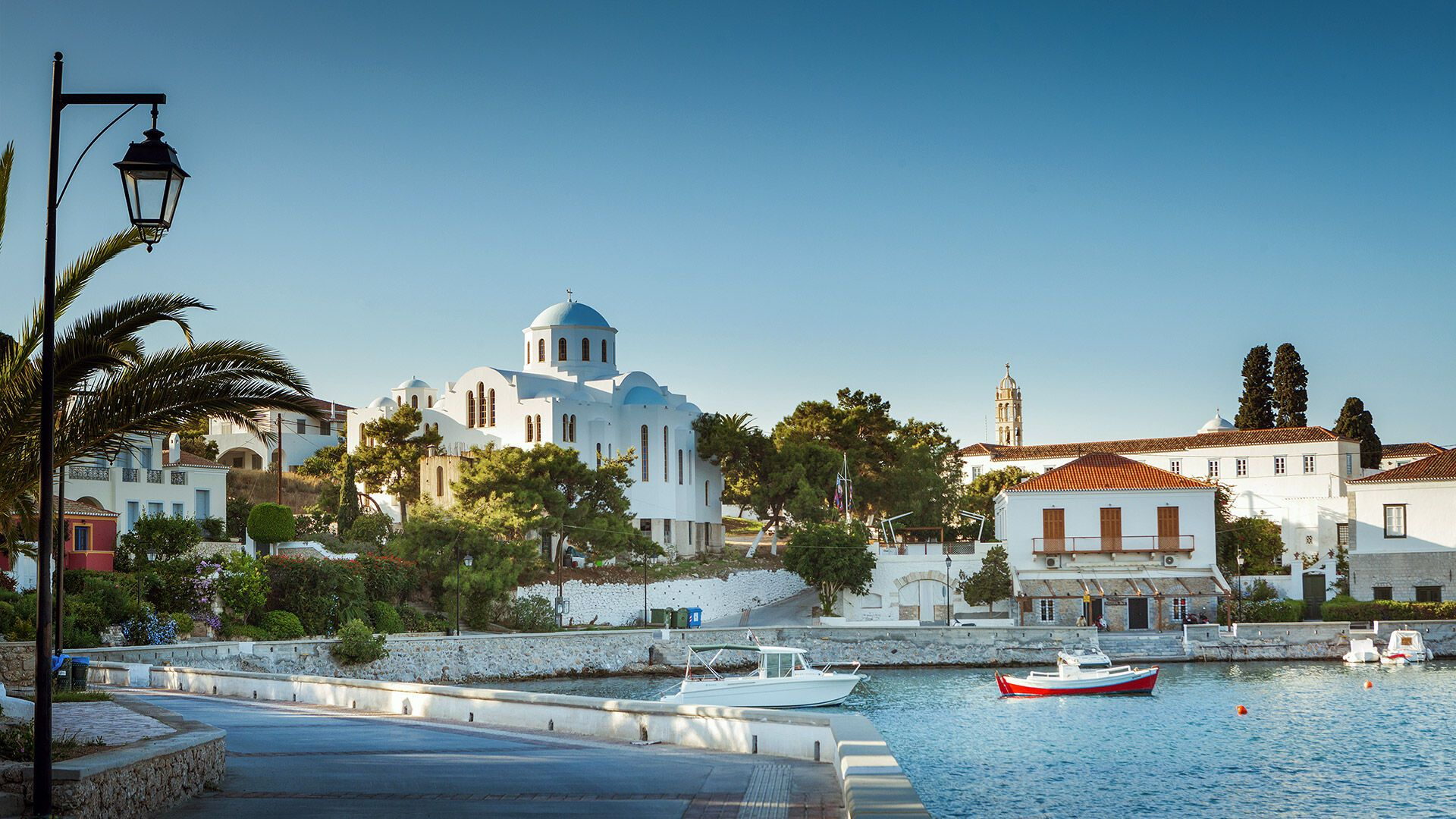 Church in Spetses island