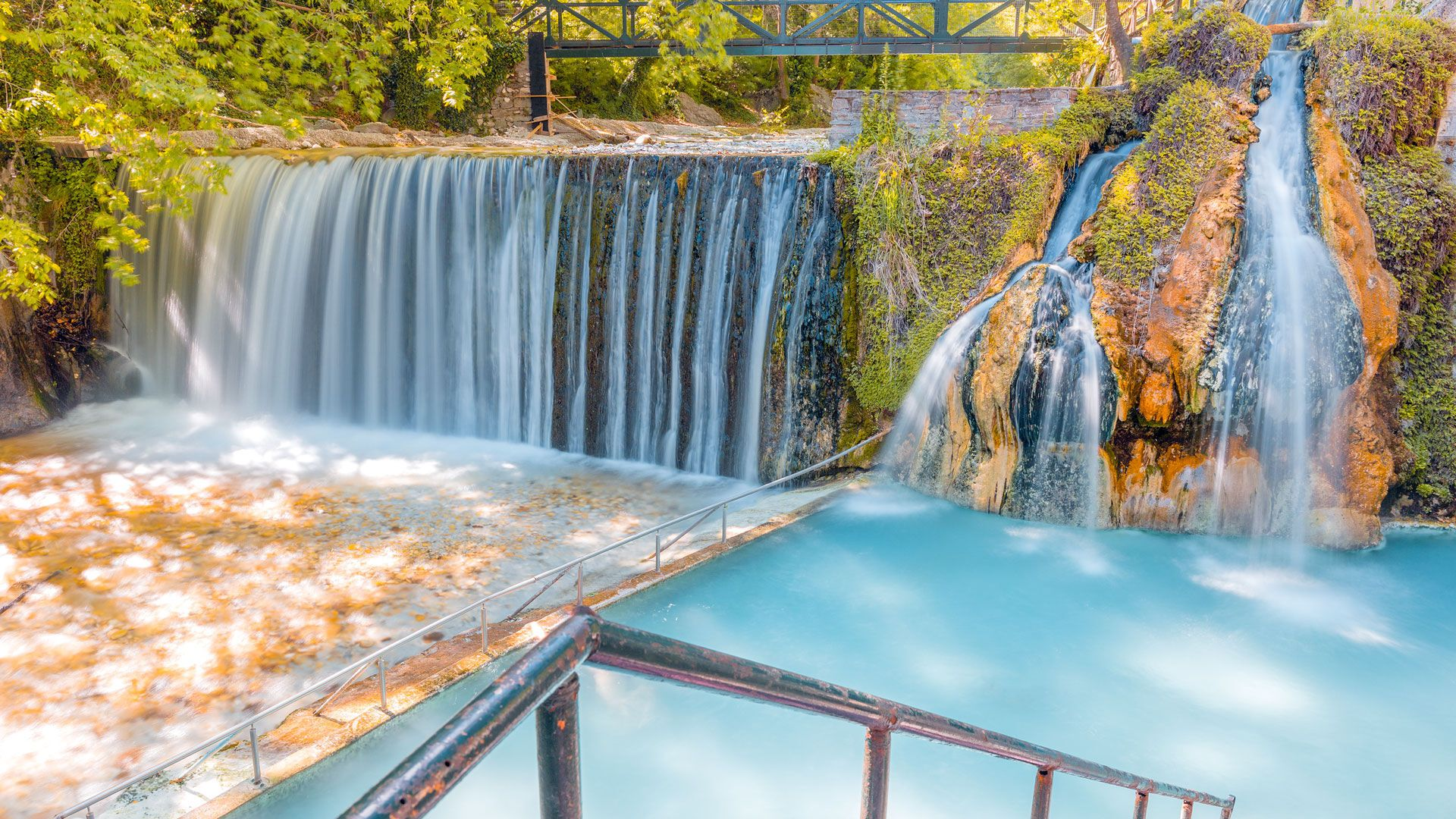 Seize the moment for a complete revitalization at the natural spas of Pozar-Loutraki Thermal Springs